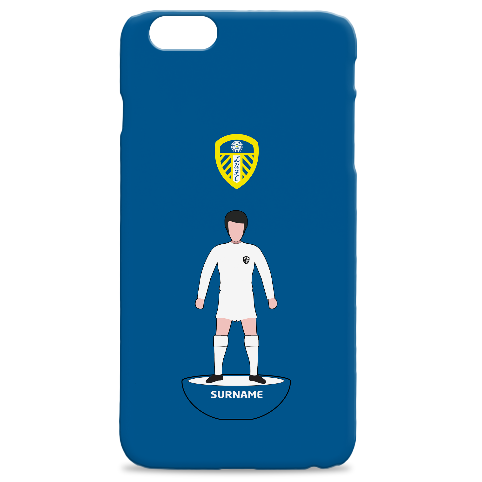 Leeds United Player Figure Hard Back Phone Case