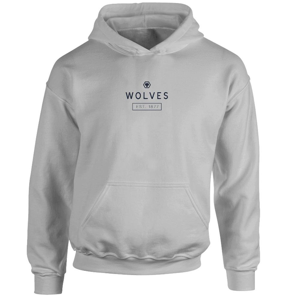 Wolves Minimal Hoodie