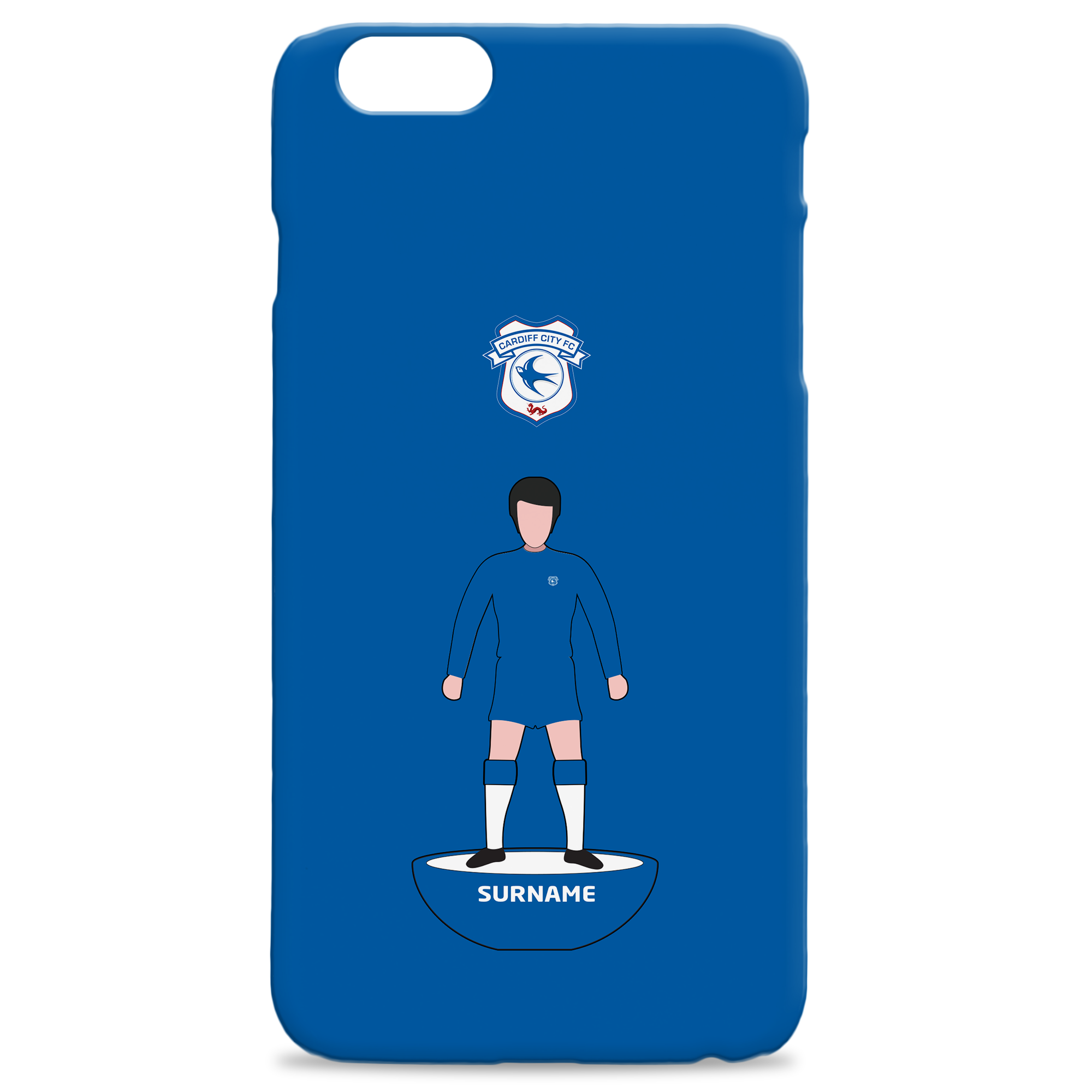 Cardiff City Player Figure Hard Back Phone Case