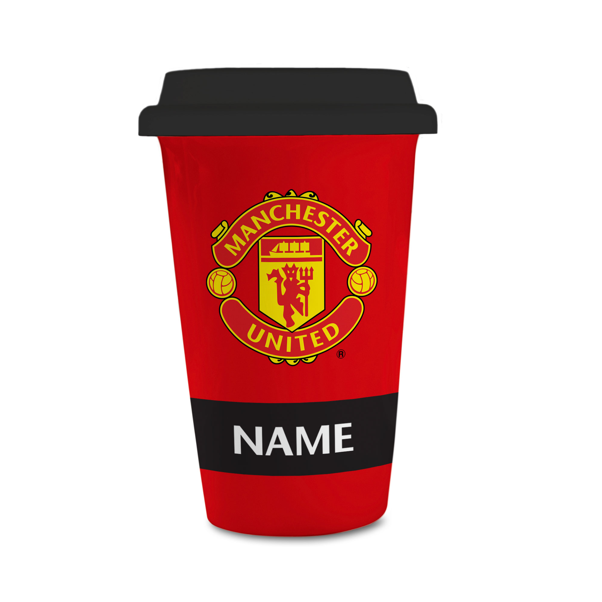 Manchester United FC Eat Sleep Drink  Reusable Cup