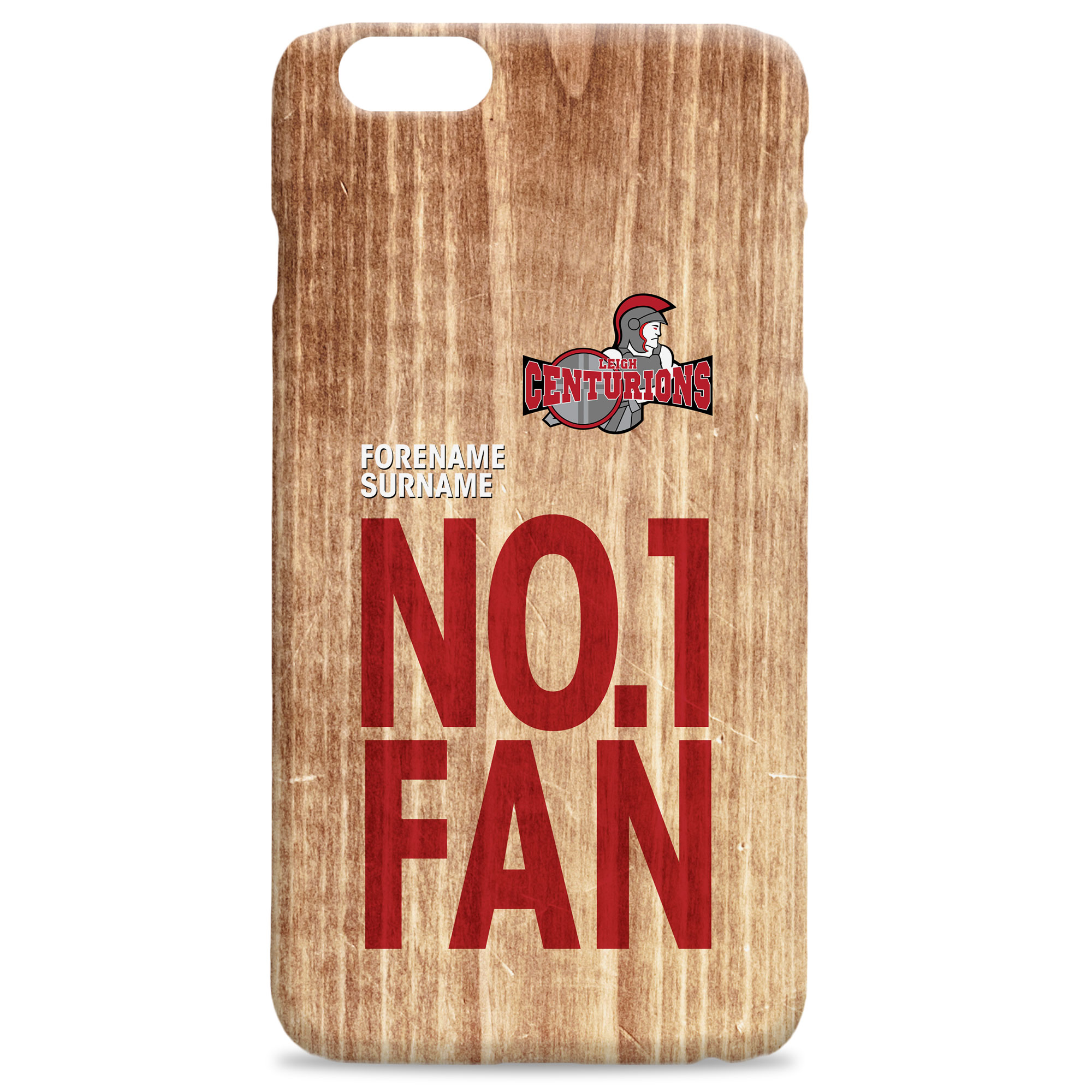 Leigh Centurions No 1 Fan Hard Back Phone Case