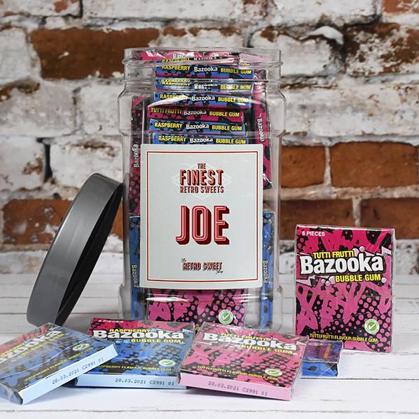 Bazooka Bubblegum Jar