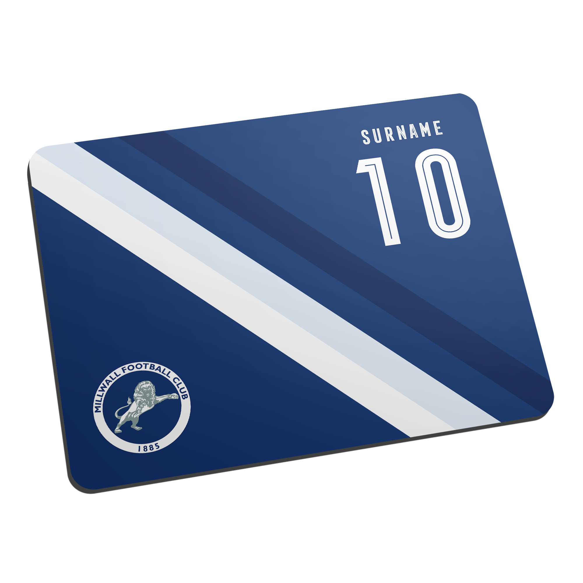 Millwall Stripe Mouse Mat