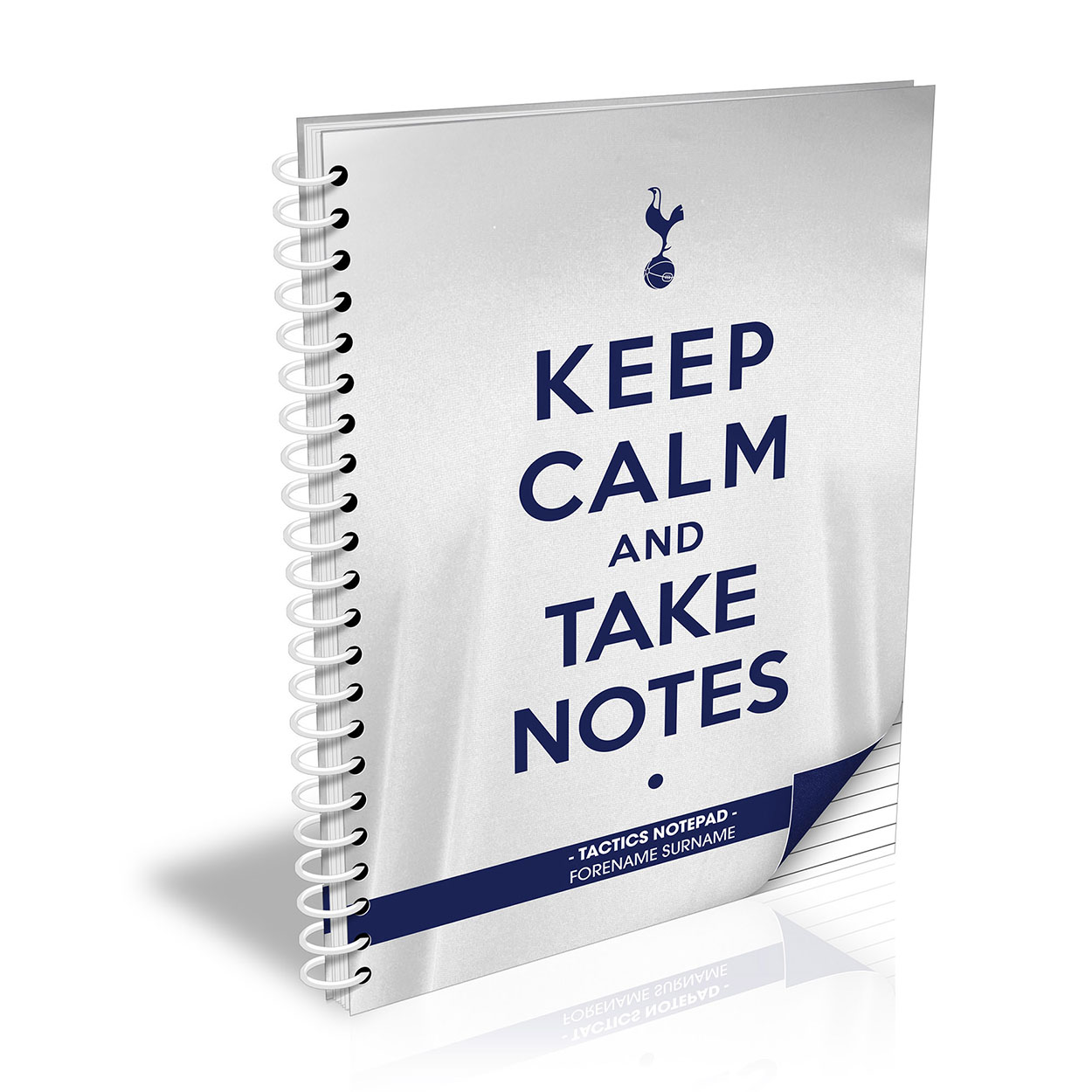 Tottenham Hotspur FC Keep Calm Notebook