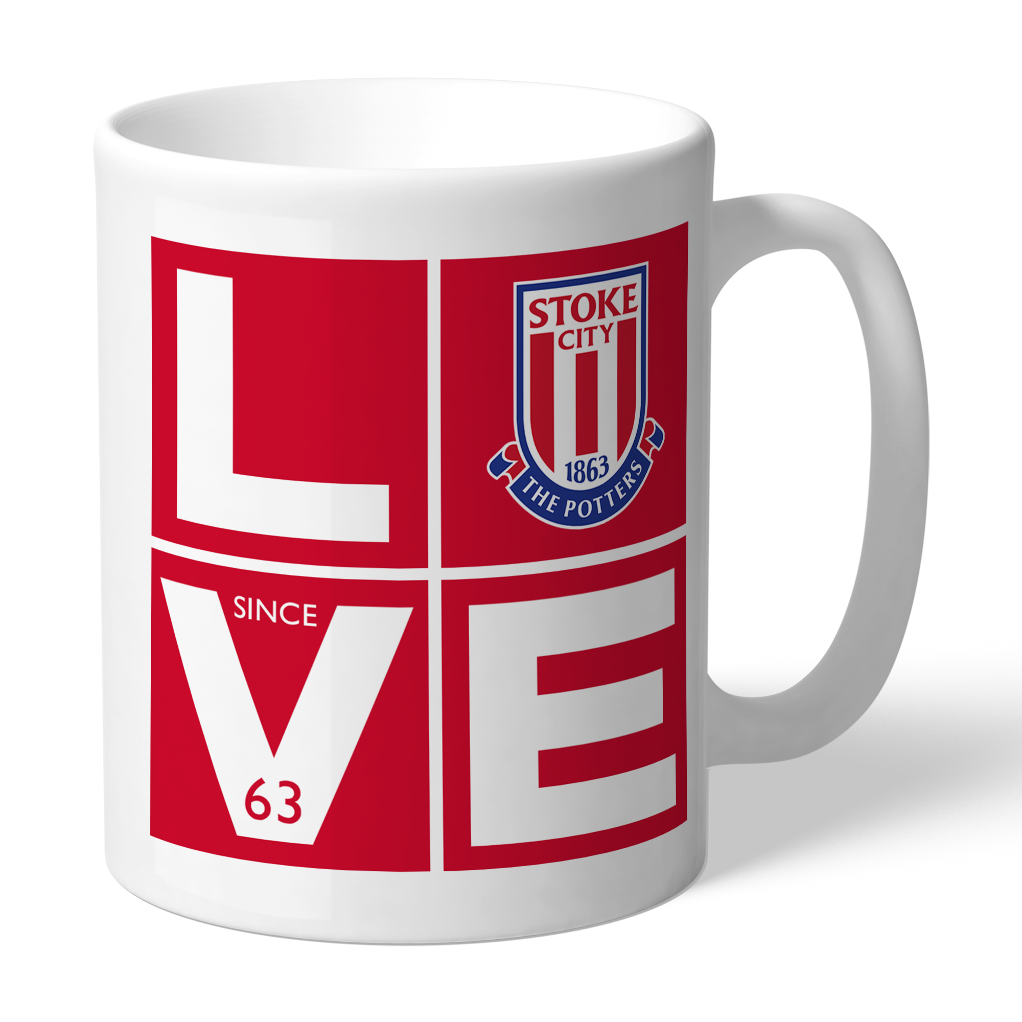 Stoke City FC Love Mug