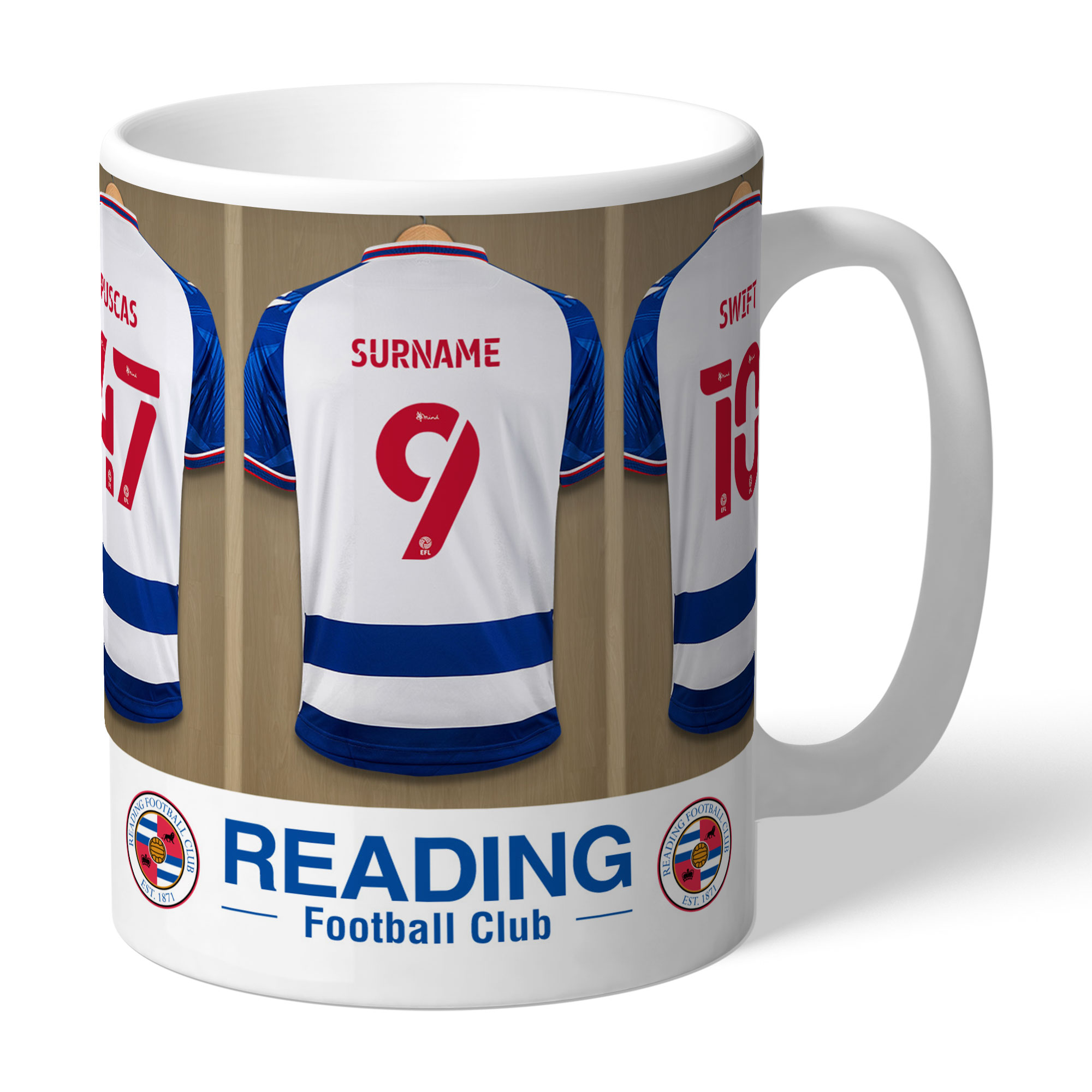 Reading FC Dressing Room Mug