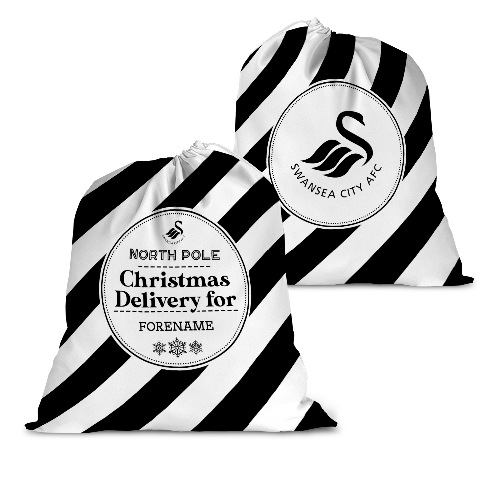 Swansea City AFC Christmas Delivery Santa Sack