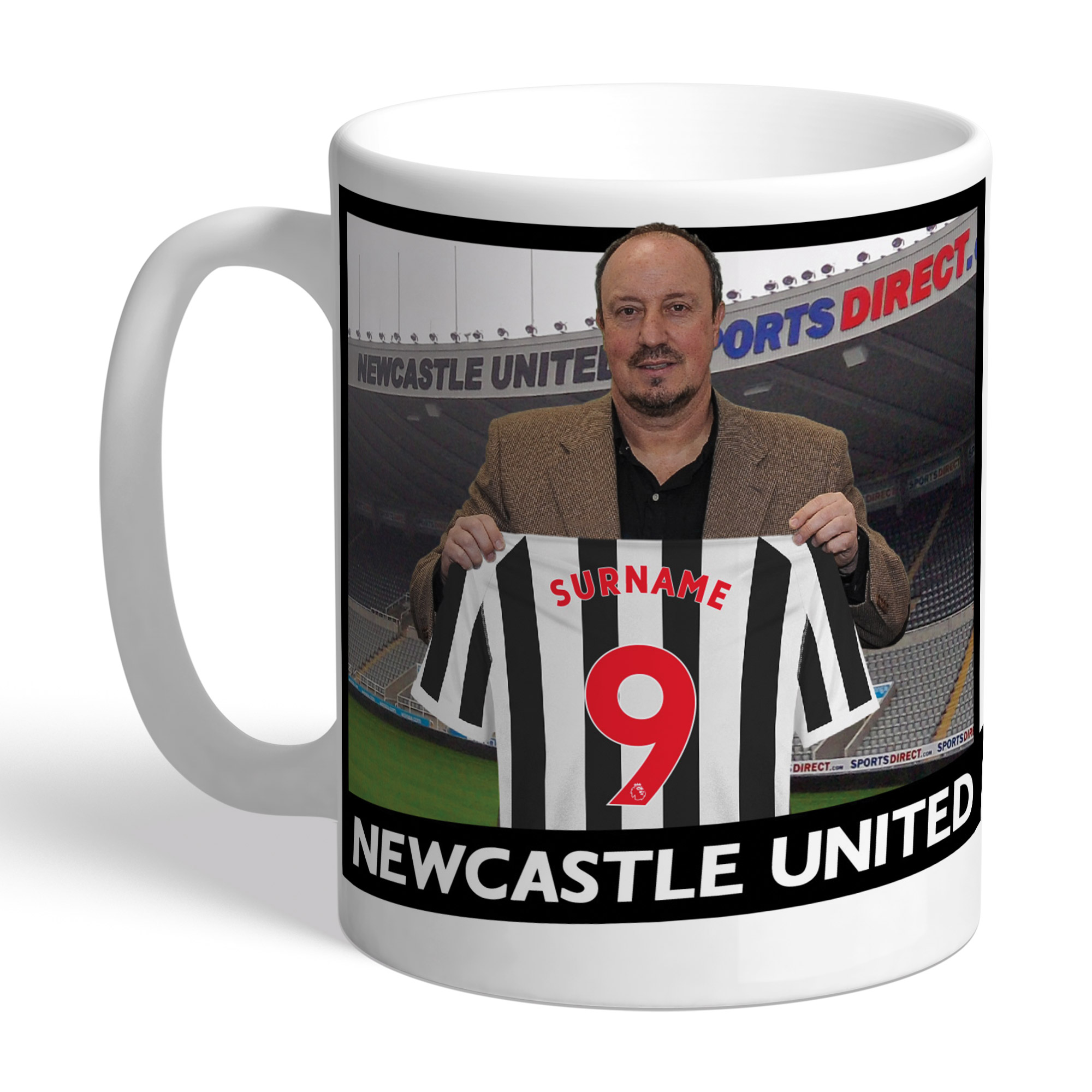 Newcastle United FC Manager Mug