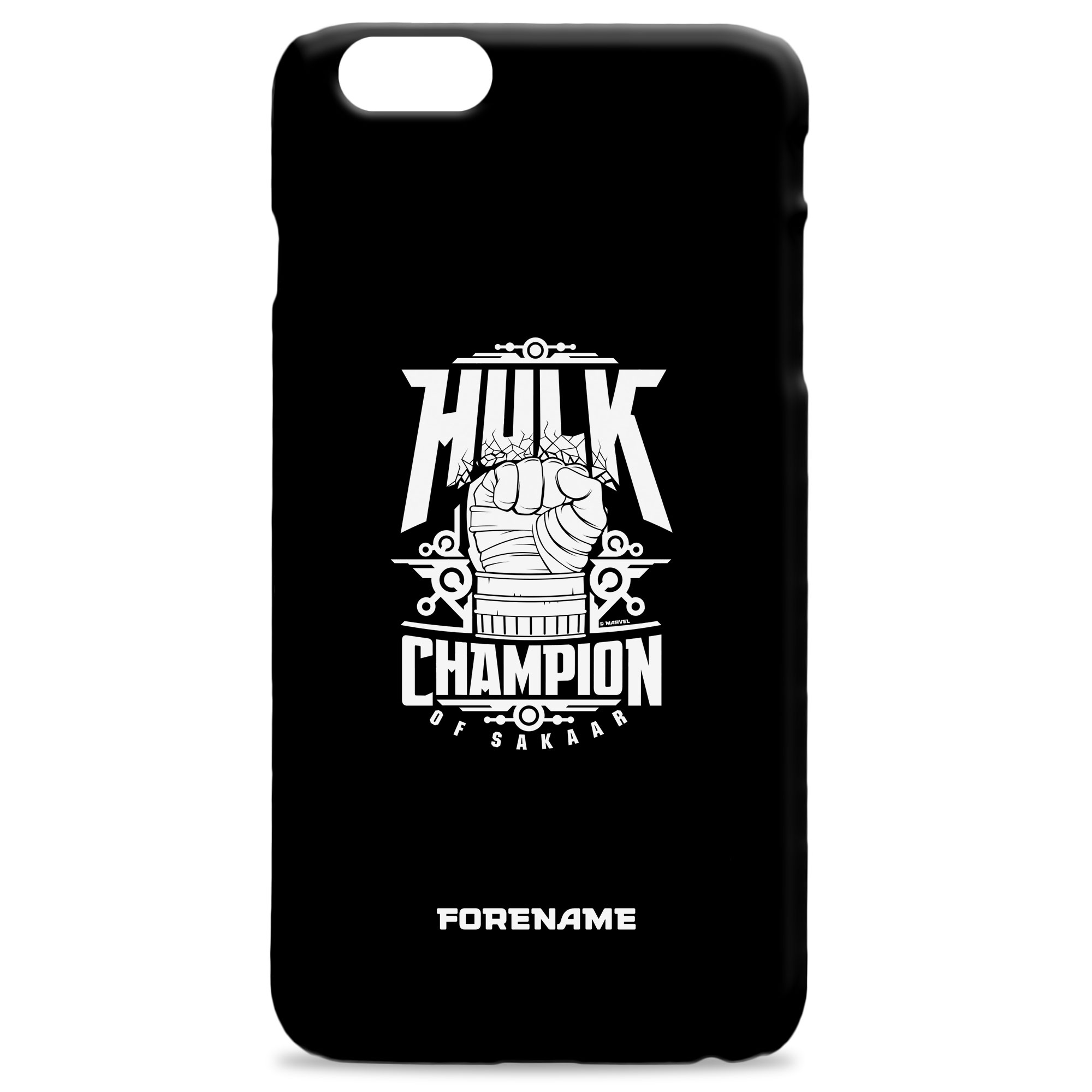 Marvel Thor Ragnarok Hulk Badge Phone Case