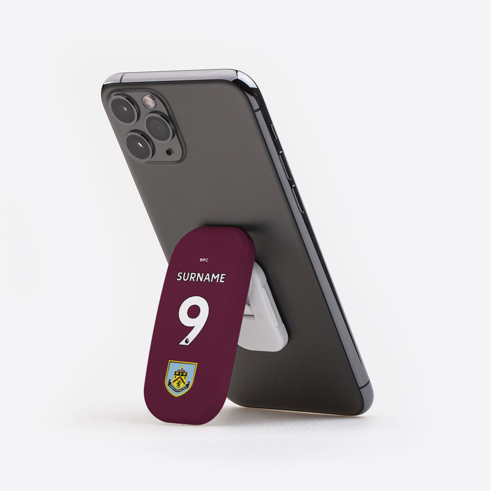 Burnley FC Back of Shirt Clickit - Gloss