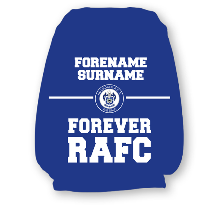 Rochdale AFC Forever Headrest Cover