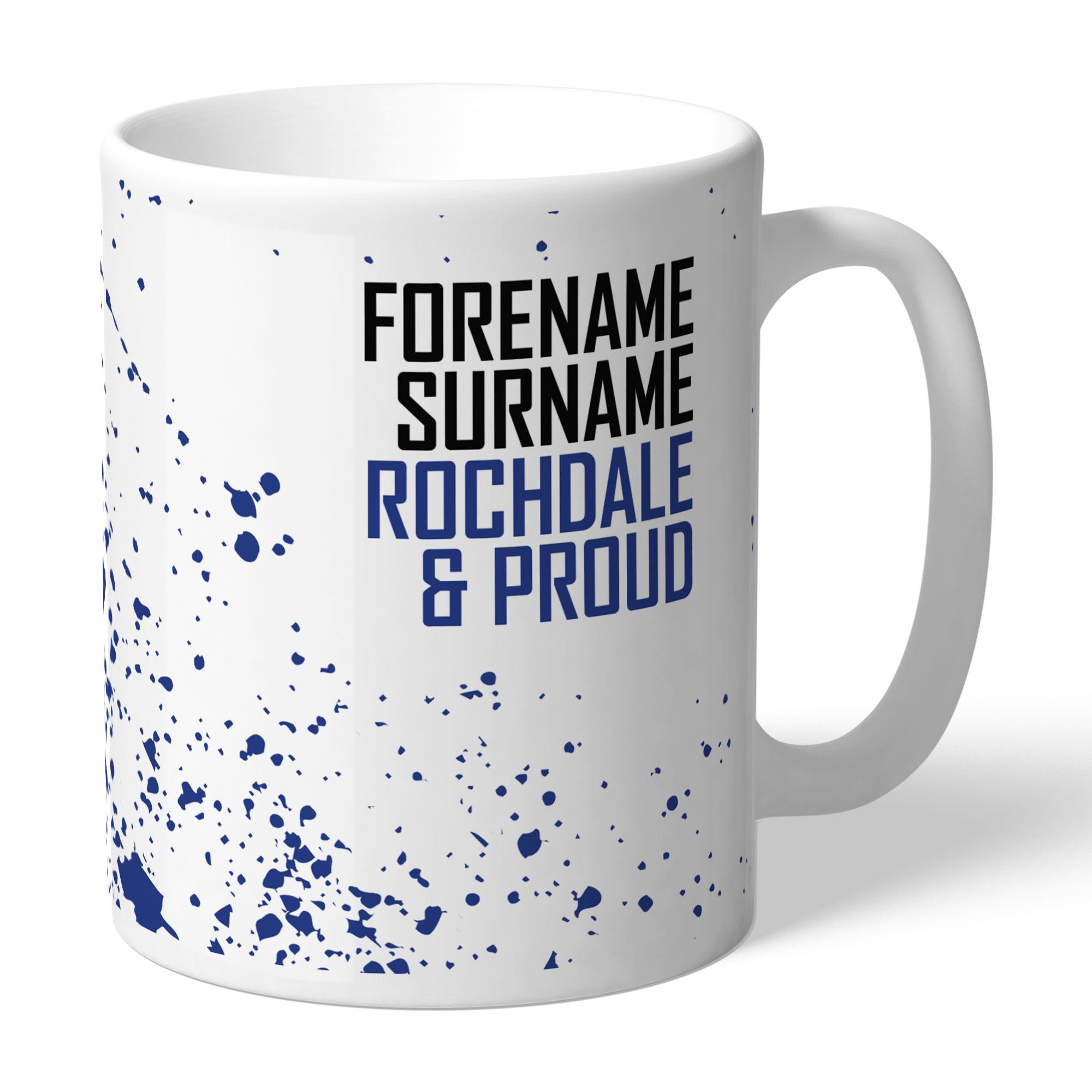 Rochdale AFC Proud Mug