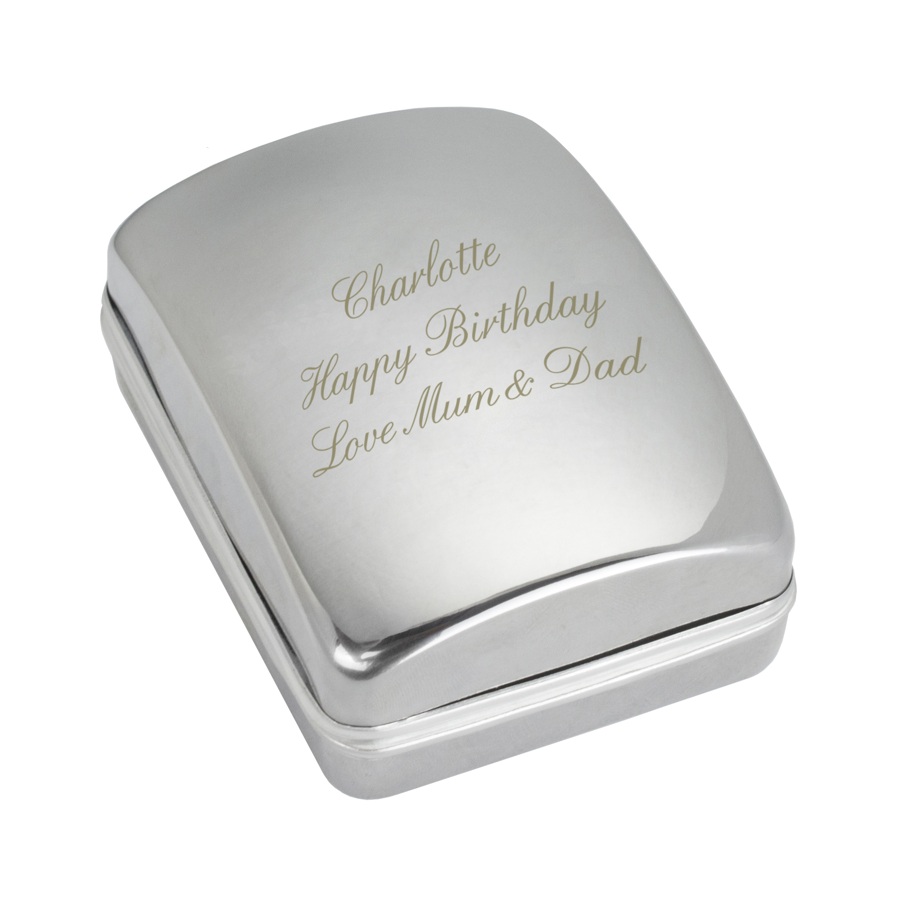 Engraved Pendant Gift Box