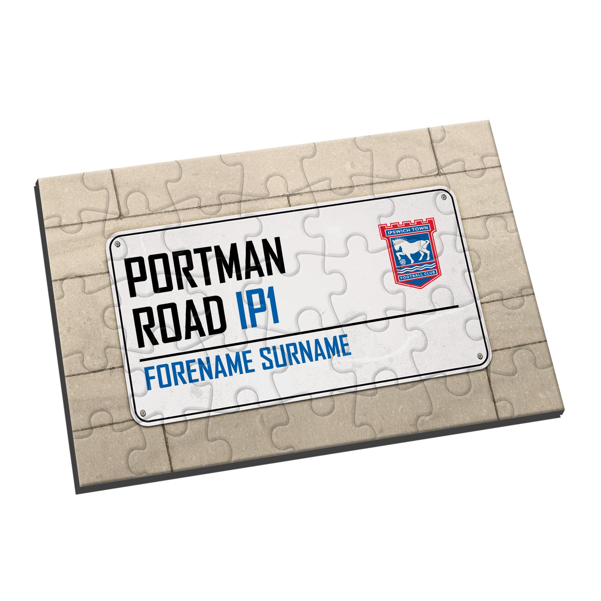 Ipswich Town FC Street Sign Jigsaw