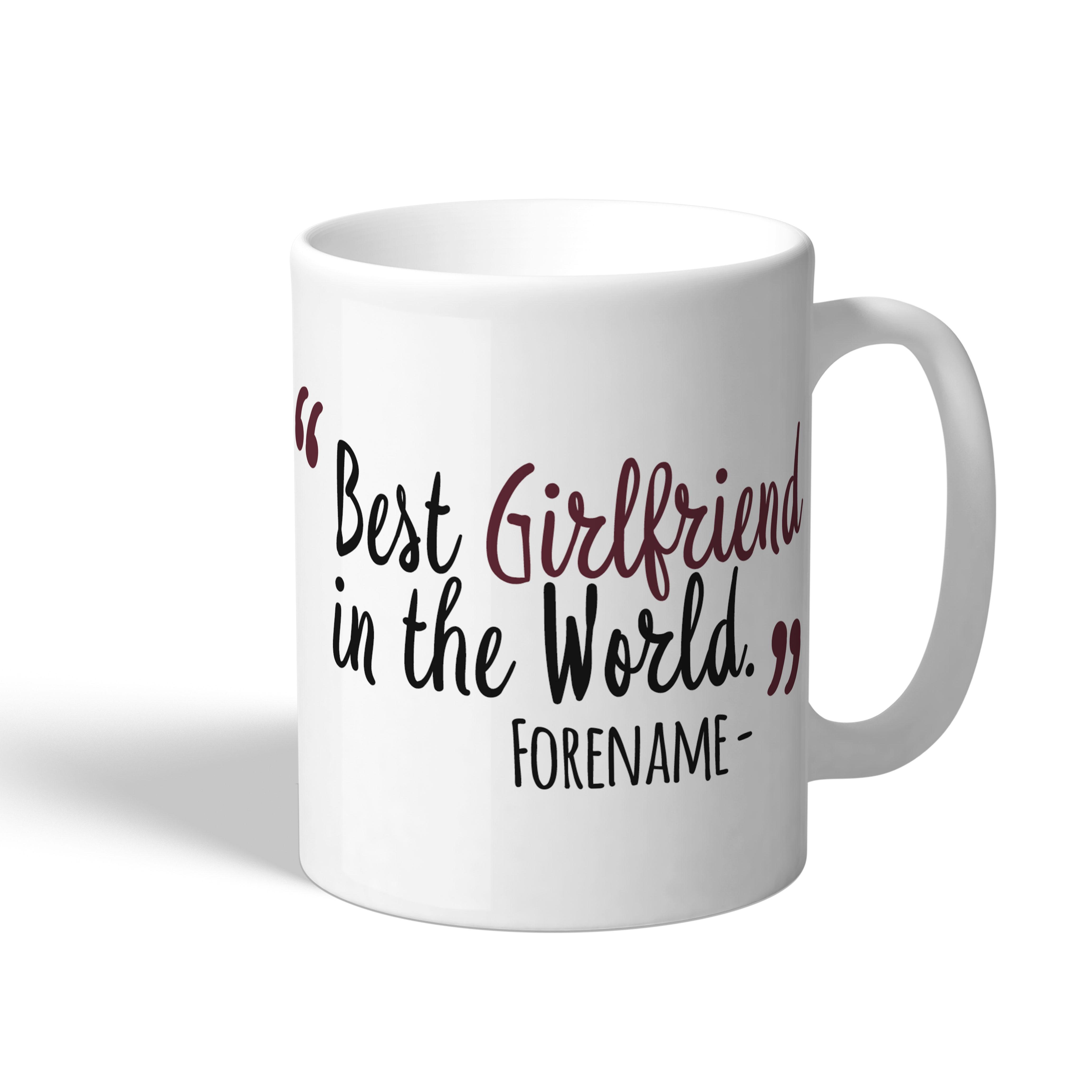 West Ham United FC Best Girlfriend In The World Mug