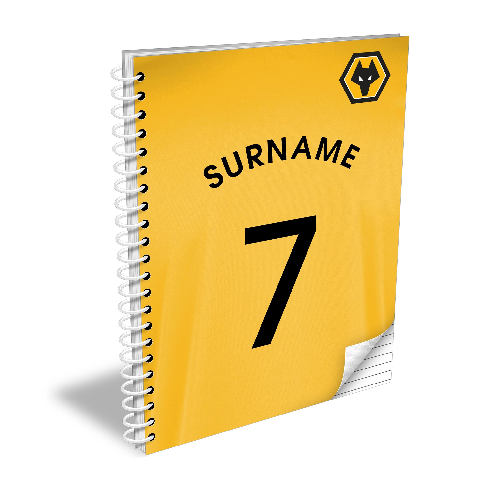 Wolves Shirt Notebook