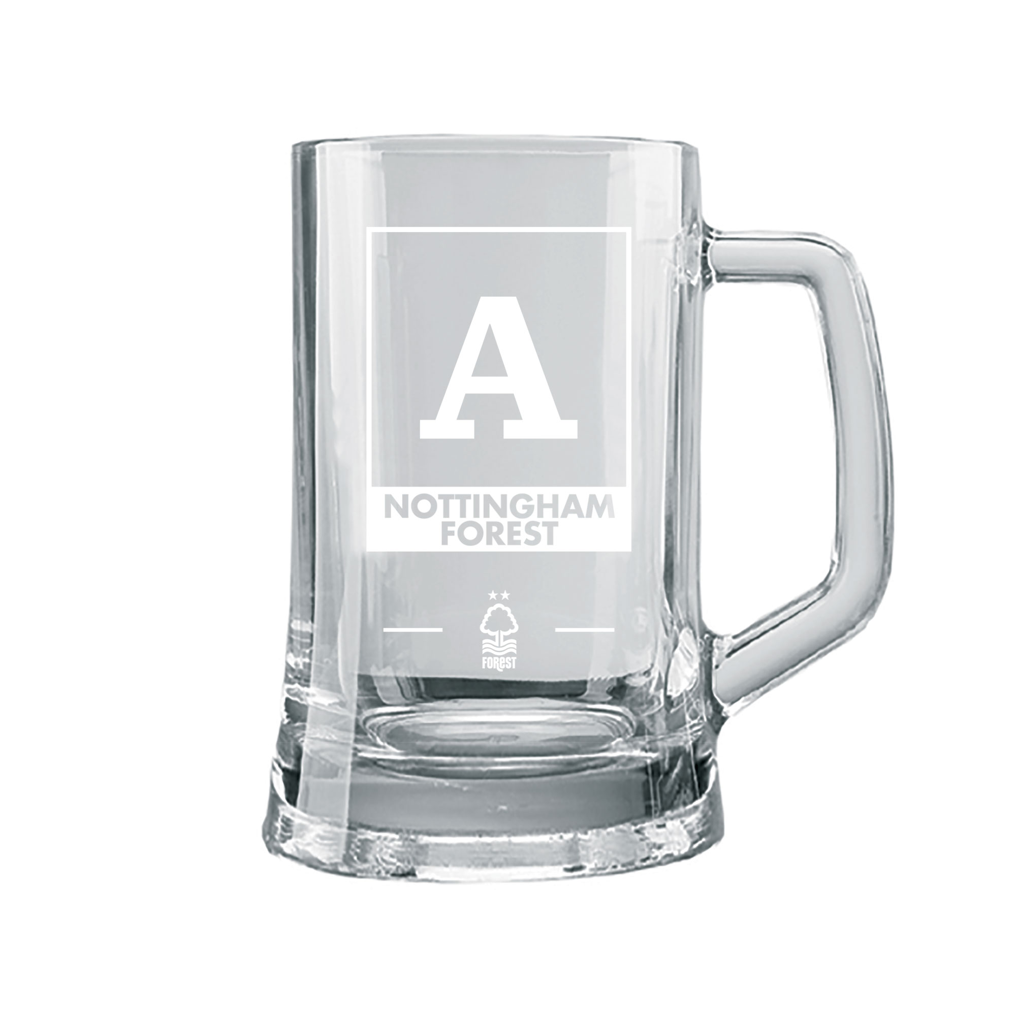 Nottingham Forest FC Monogram Large Straight Sided Tankard