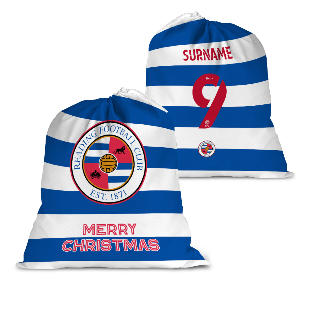 Reading FC Back of Shirt Santa Sack