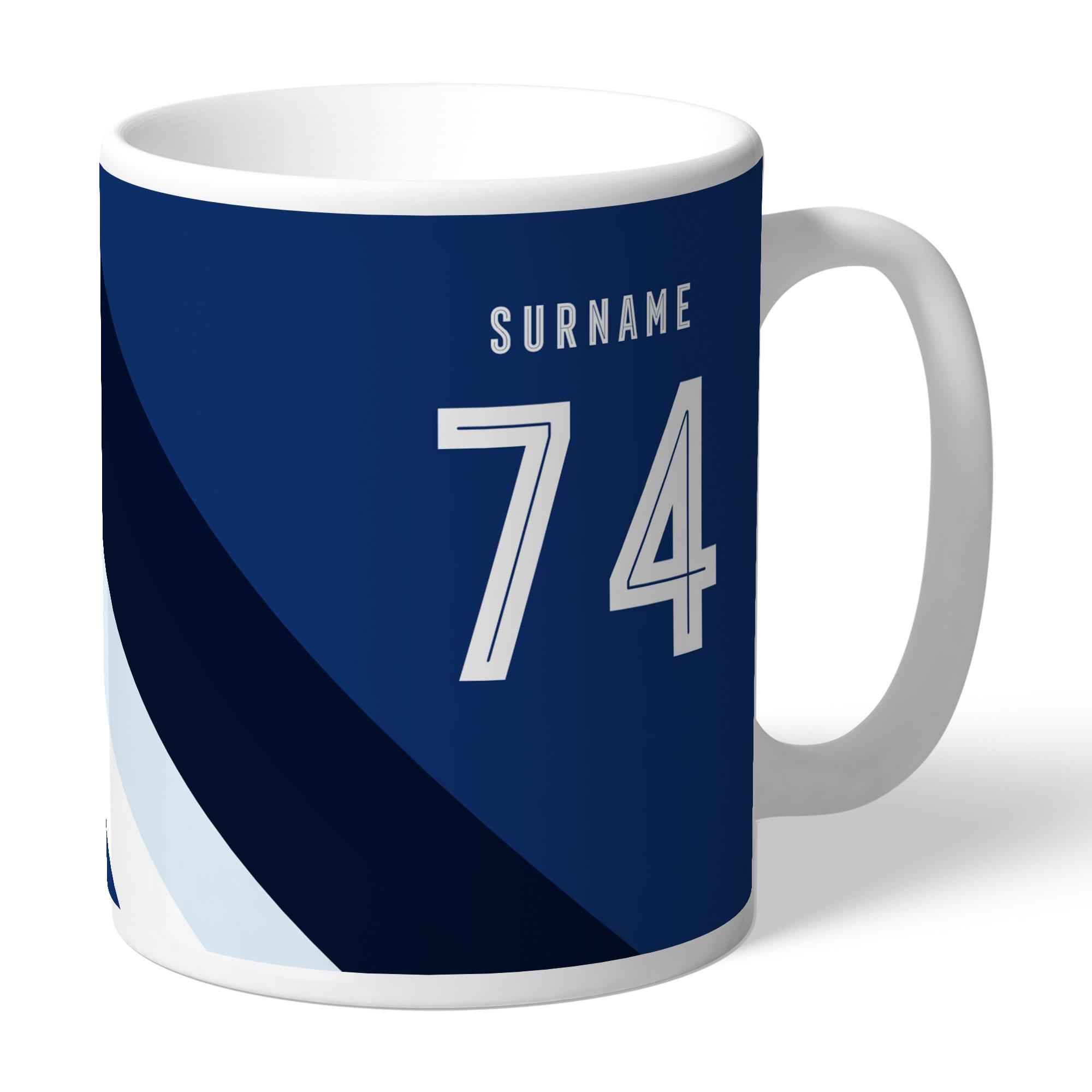 West Bromwich Albion FC Stripe Mug