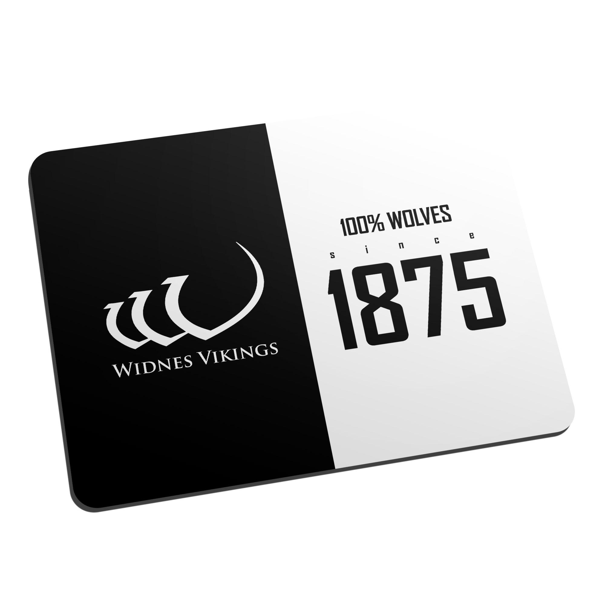 Widnes Vikings 100 Percent Mouse Mat