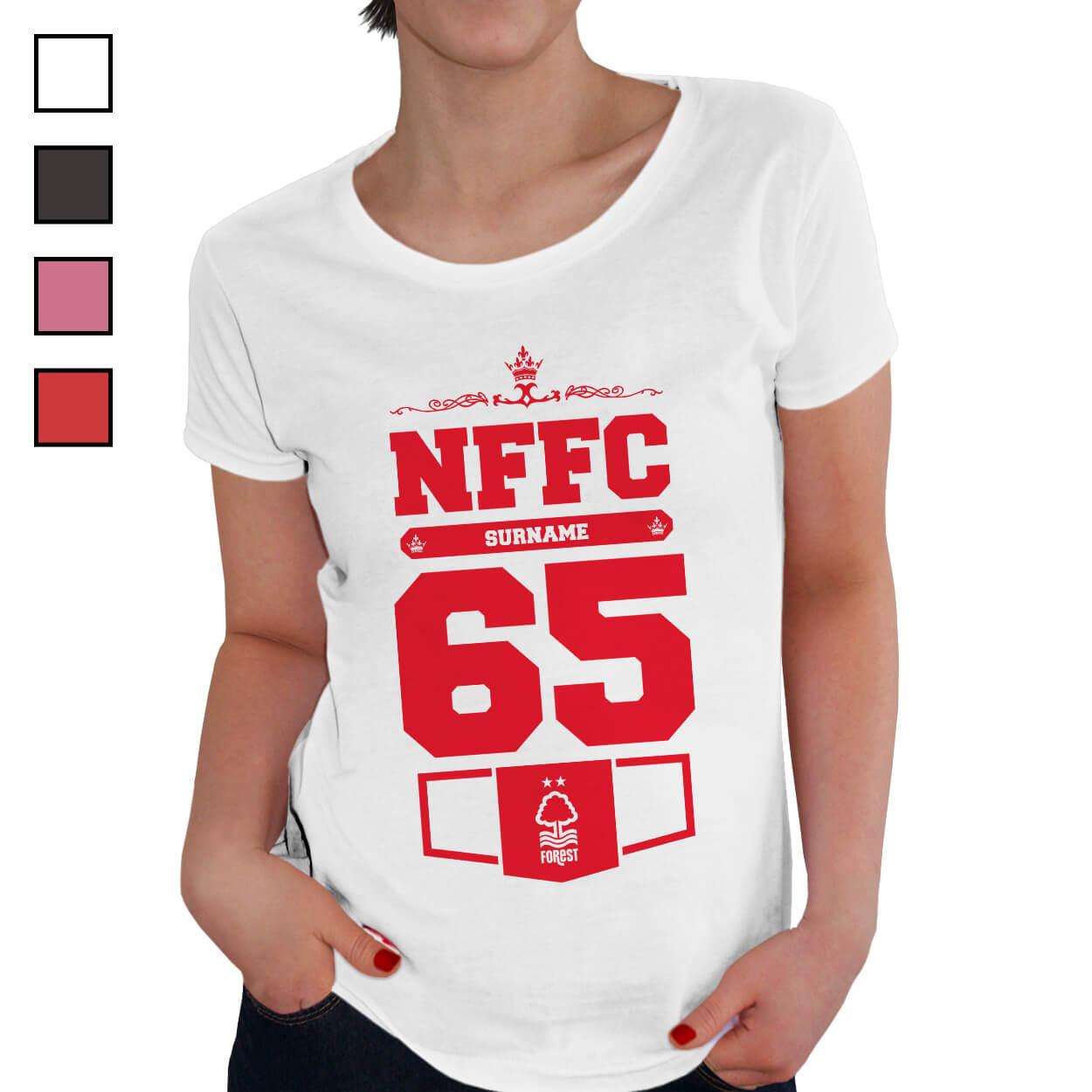 Nottingham Forest FC Ladies Club T-Shirt