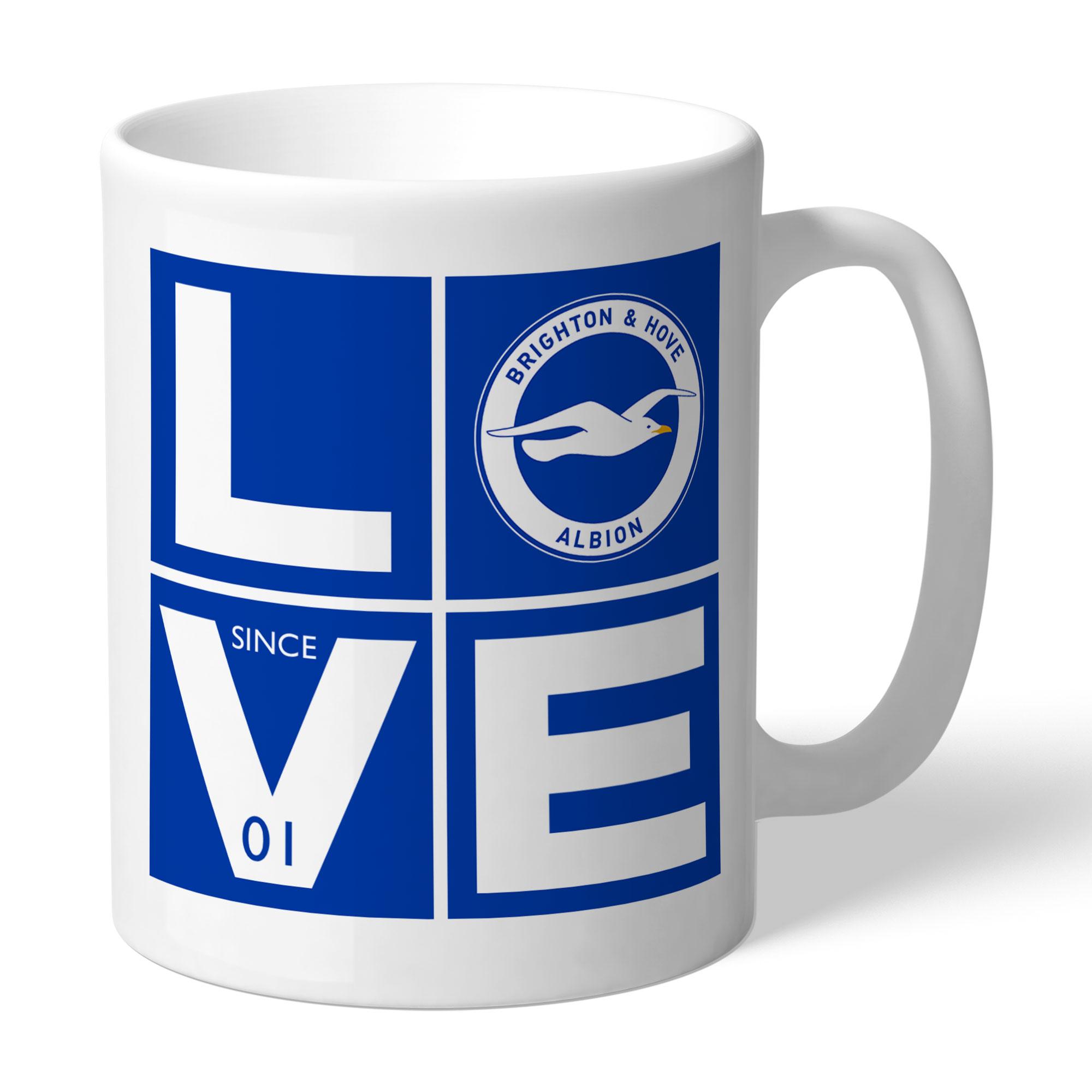 Brighton & Hove Albion FC Love Mug