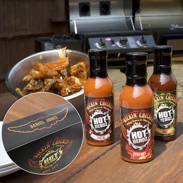 Hot-Headz Kickin' Chicken Gift Set