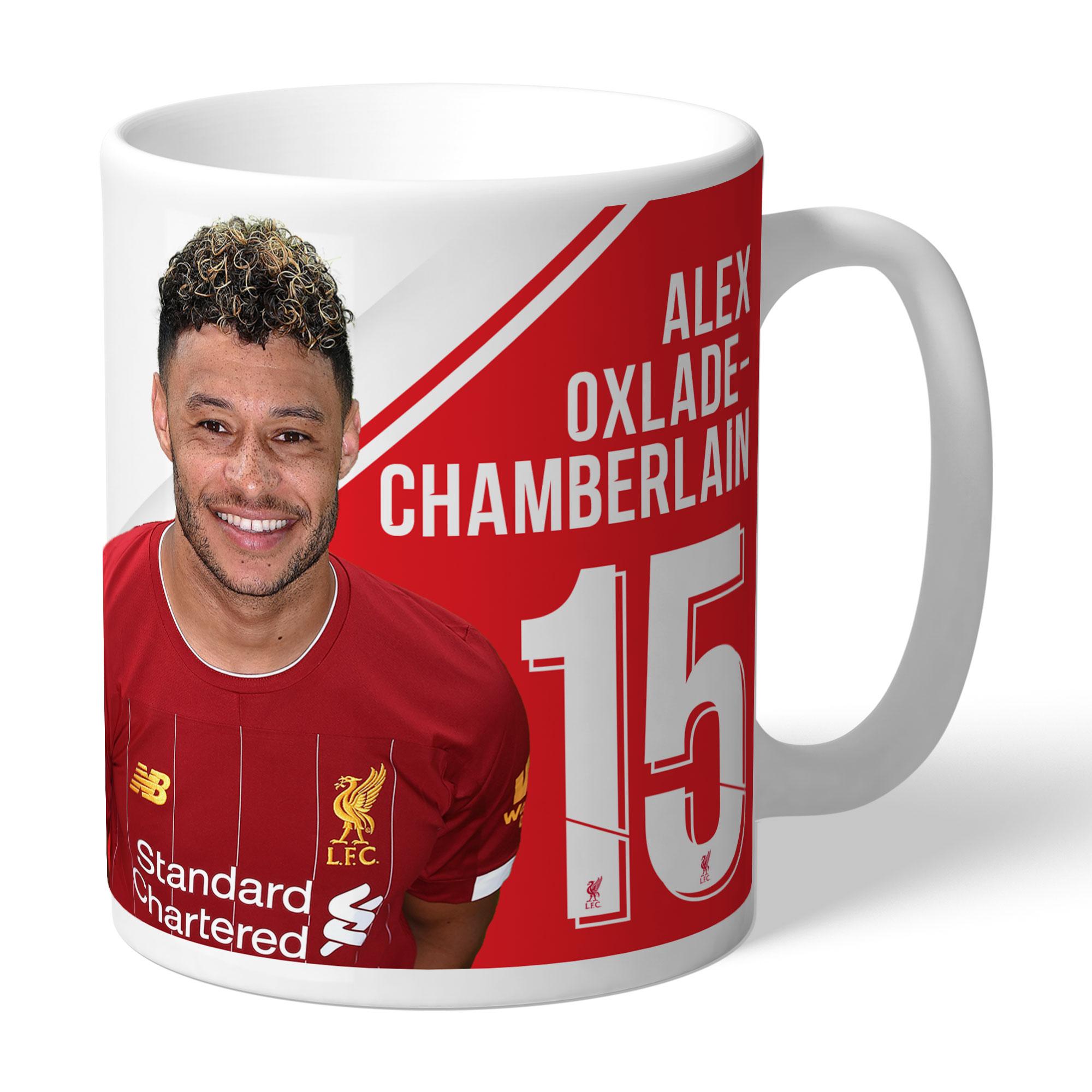 Liverpool FC Oxlade-Chamberlain Autograph Mug