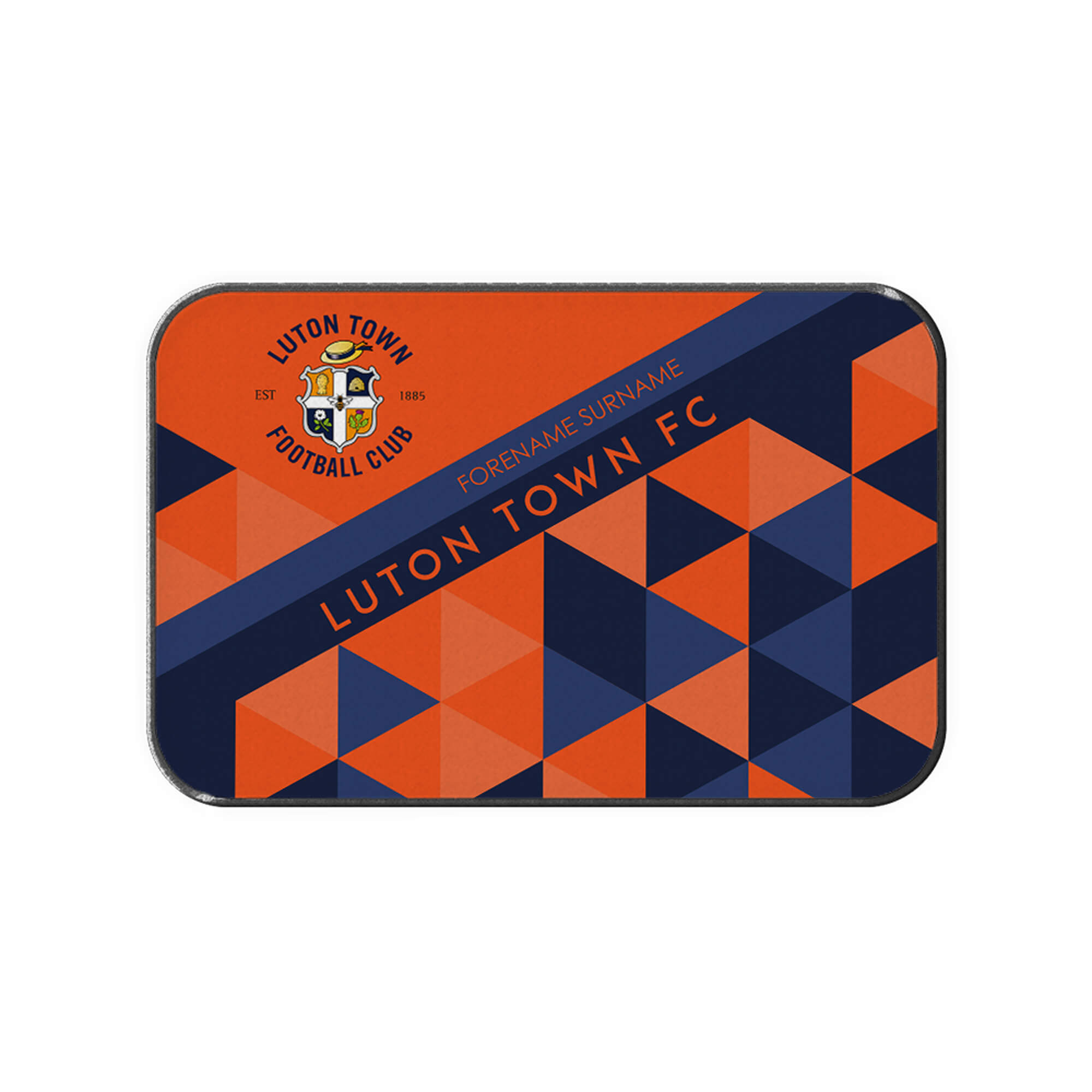 Luton Town FC Patterned Rear Car Mat