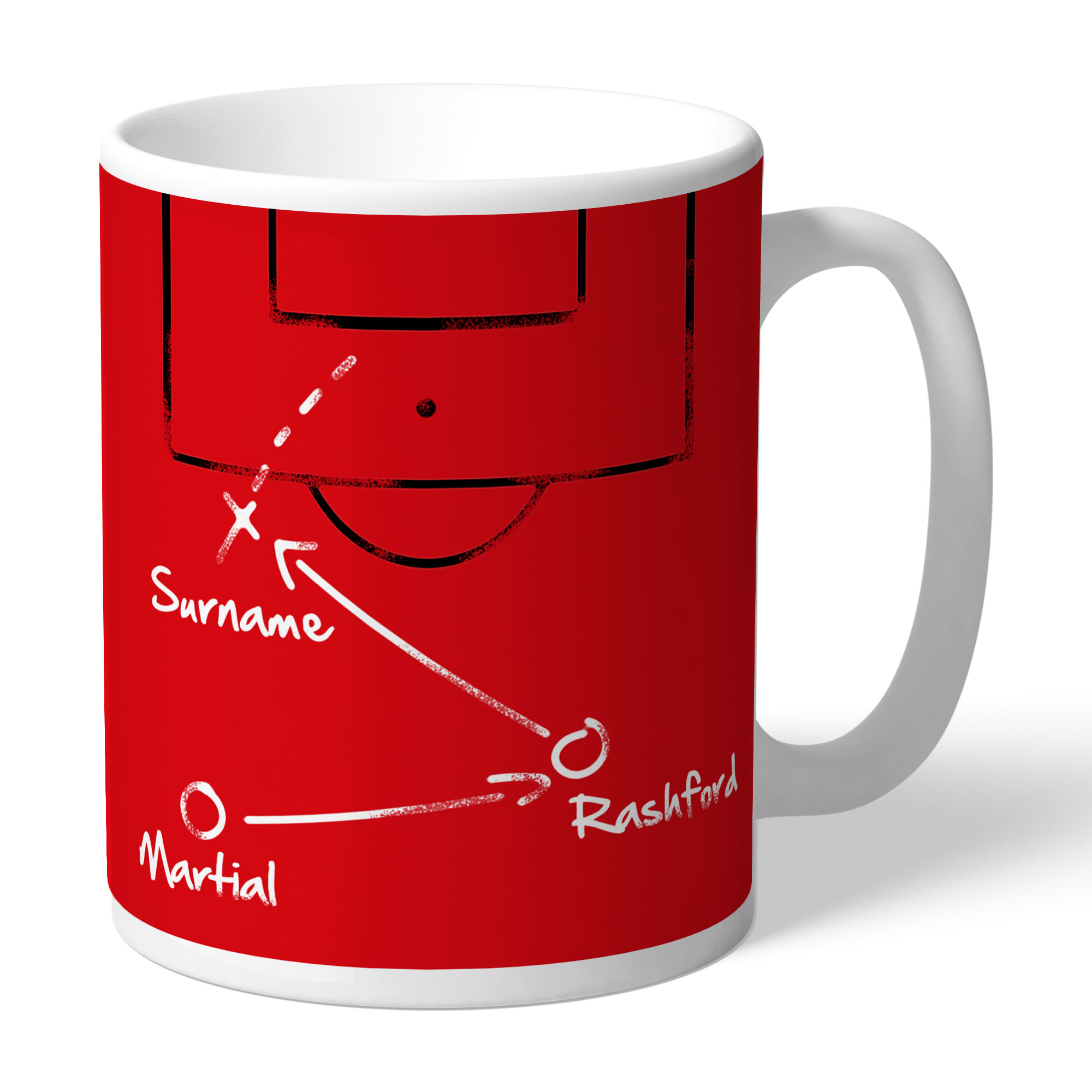 Manchester United FC Tactics Mug