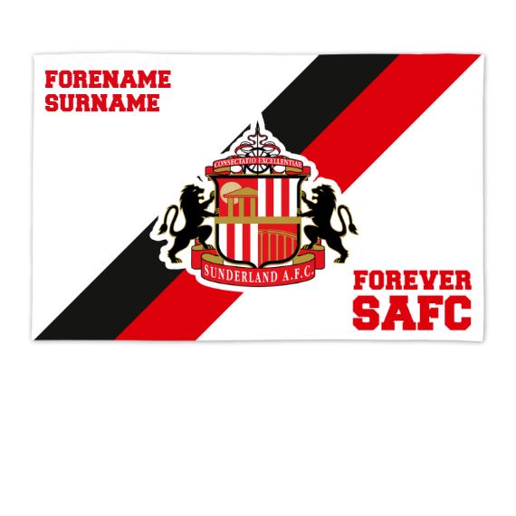 Sunderland Forever 8ft x 5ft Banner