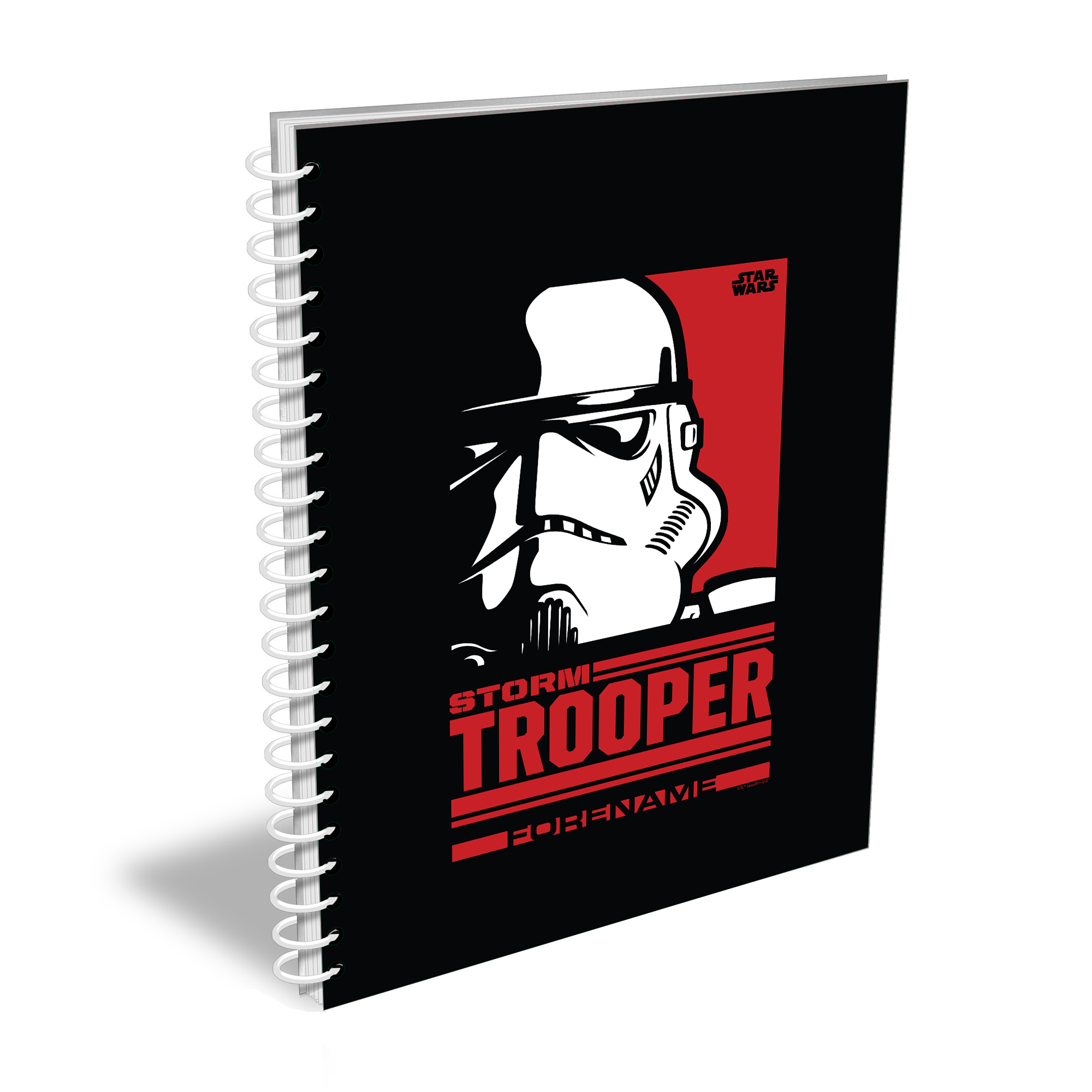 Star Wars Storm Trooper Pop Art A5 Notebook