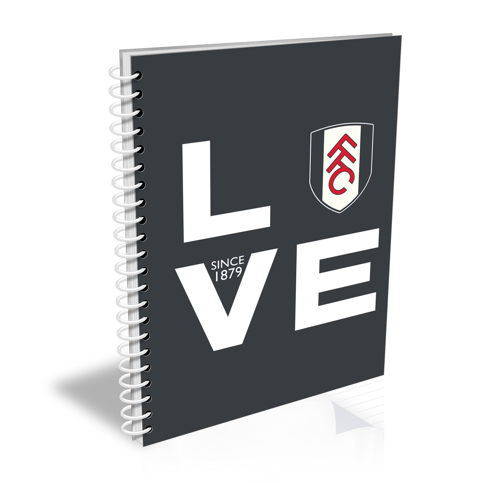 Fulham Love Notebook