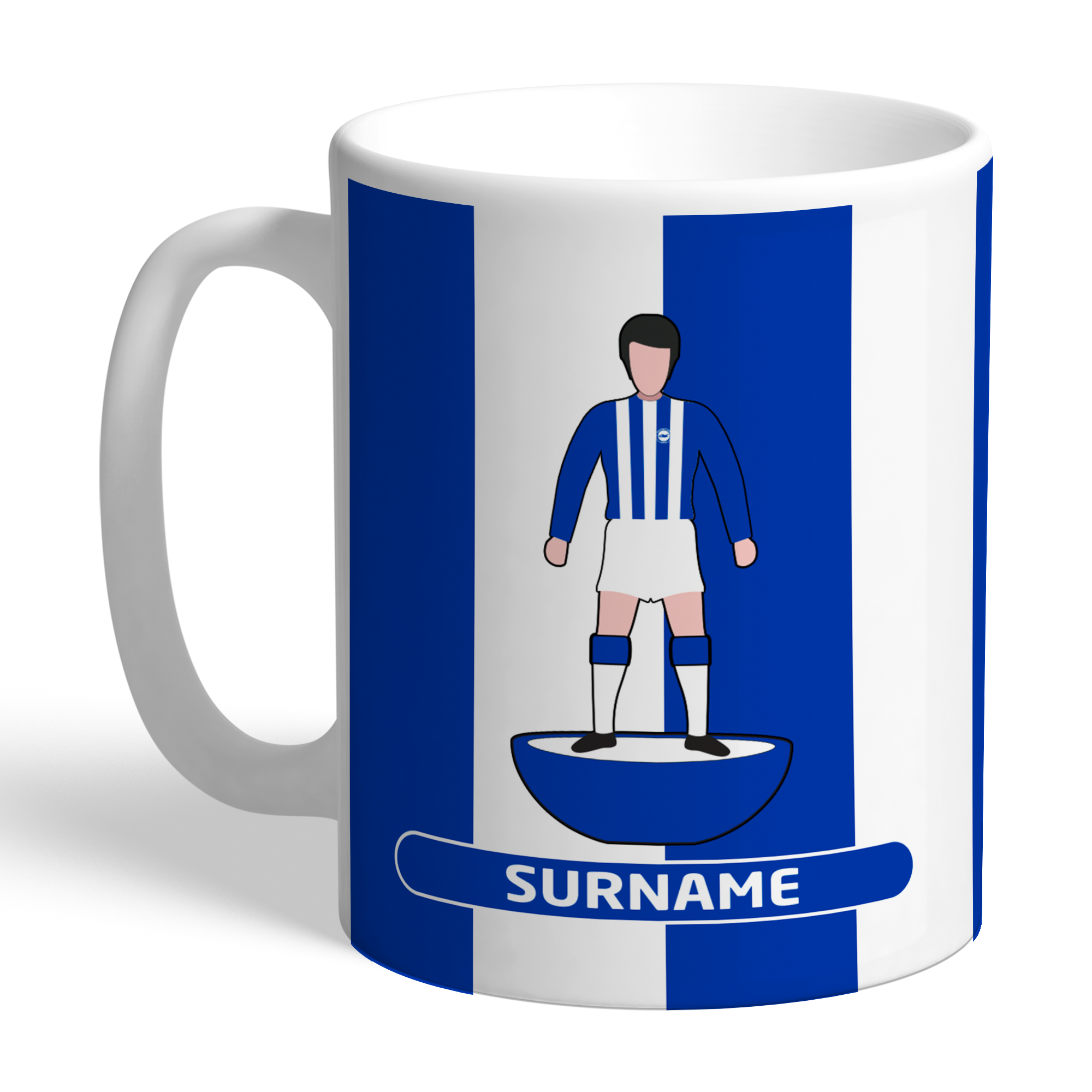 Brighton & Hove Albion FC Player Figure Mug