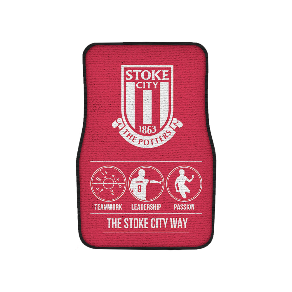 Stoke City FC Way Front Car Mat