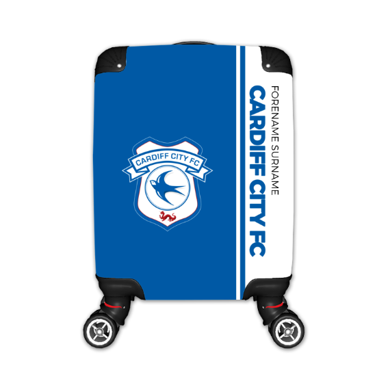Cardiff City FC Crest Kid's Suitcase