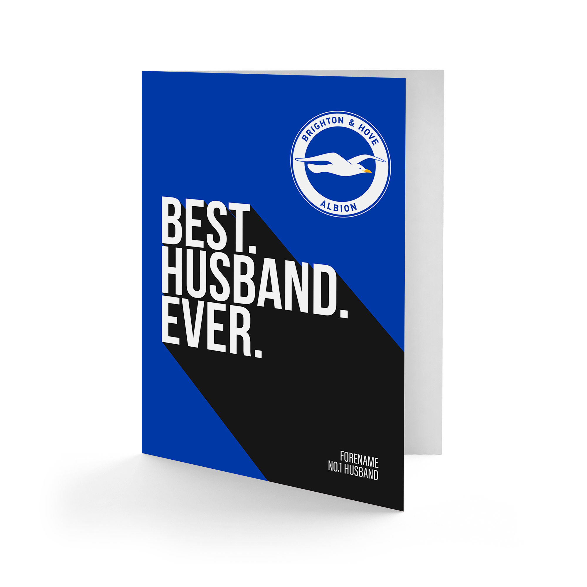 Brighton & Hove Albion FC Best Husband Ever Card