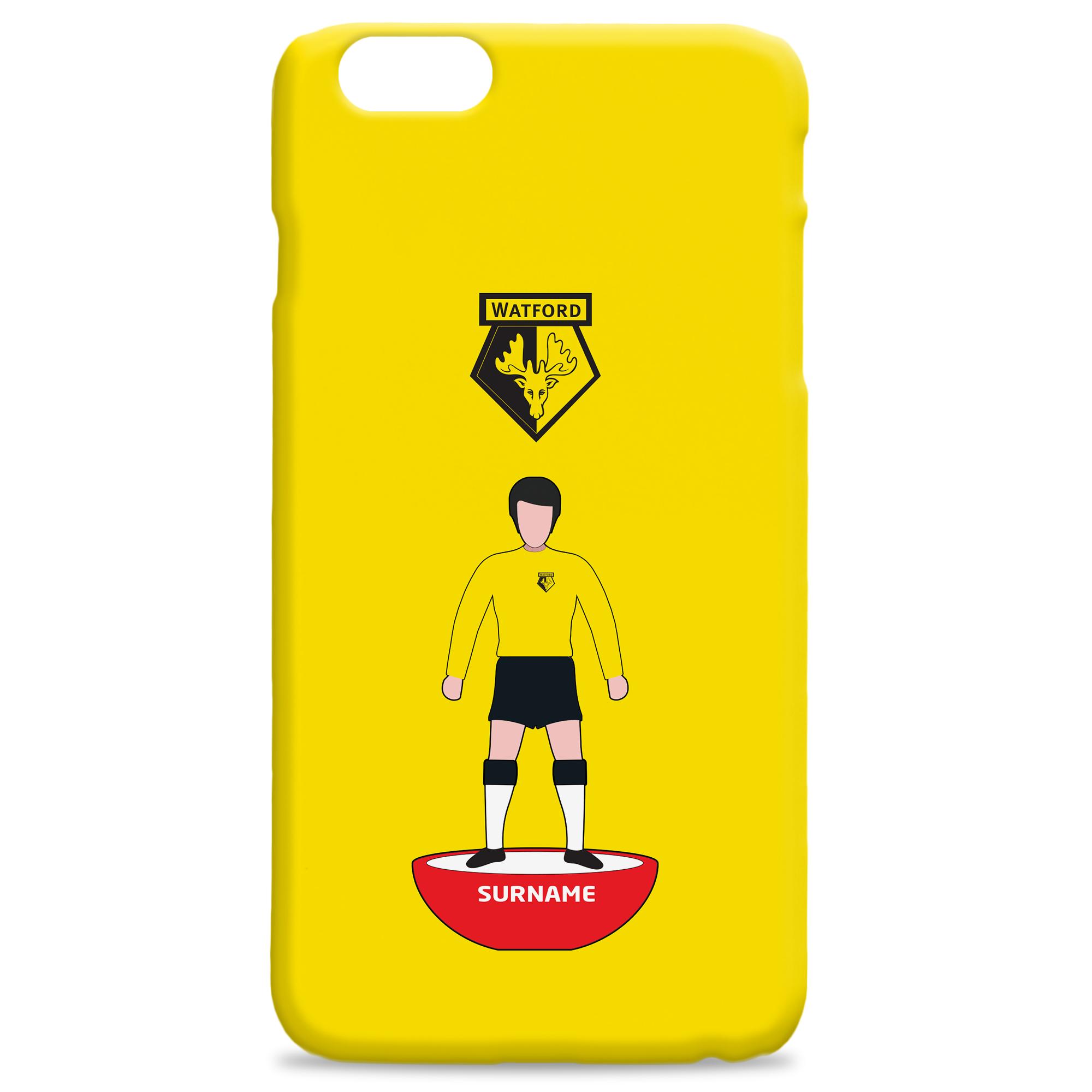 online retailer f3c64 c336d Personalised Watford FC Phone Cases