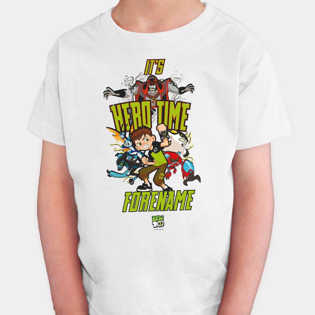 Ben 10 Hero Time Kids T-shirt