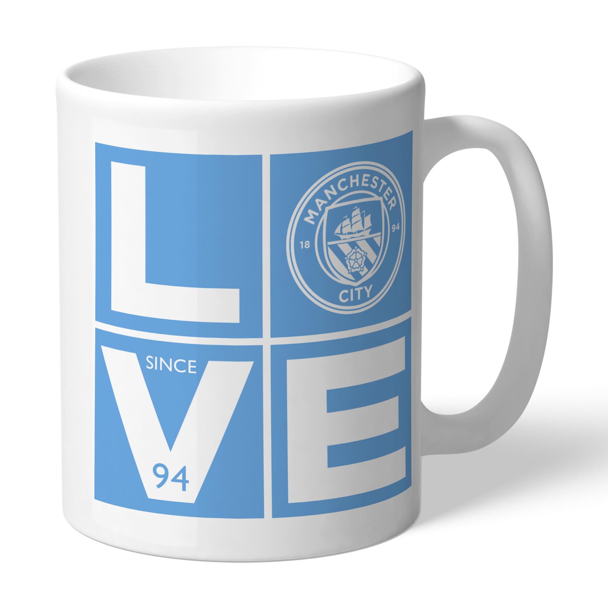 Manchester City FC Love Mug