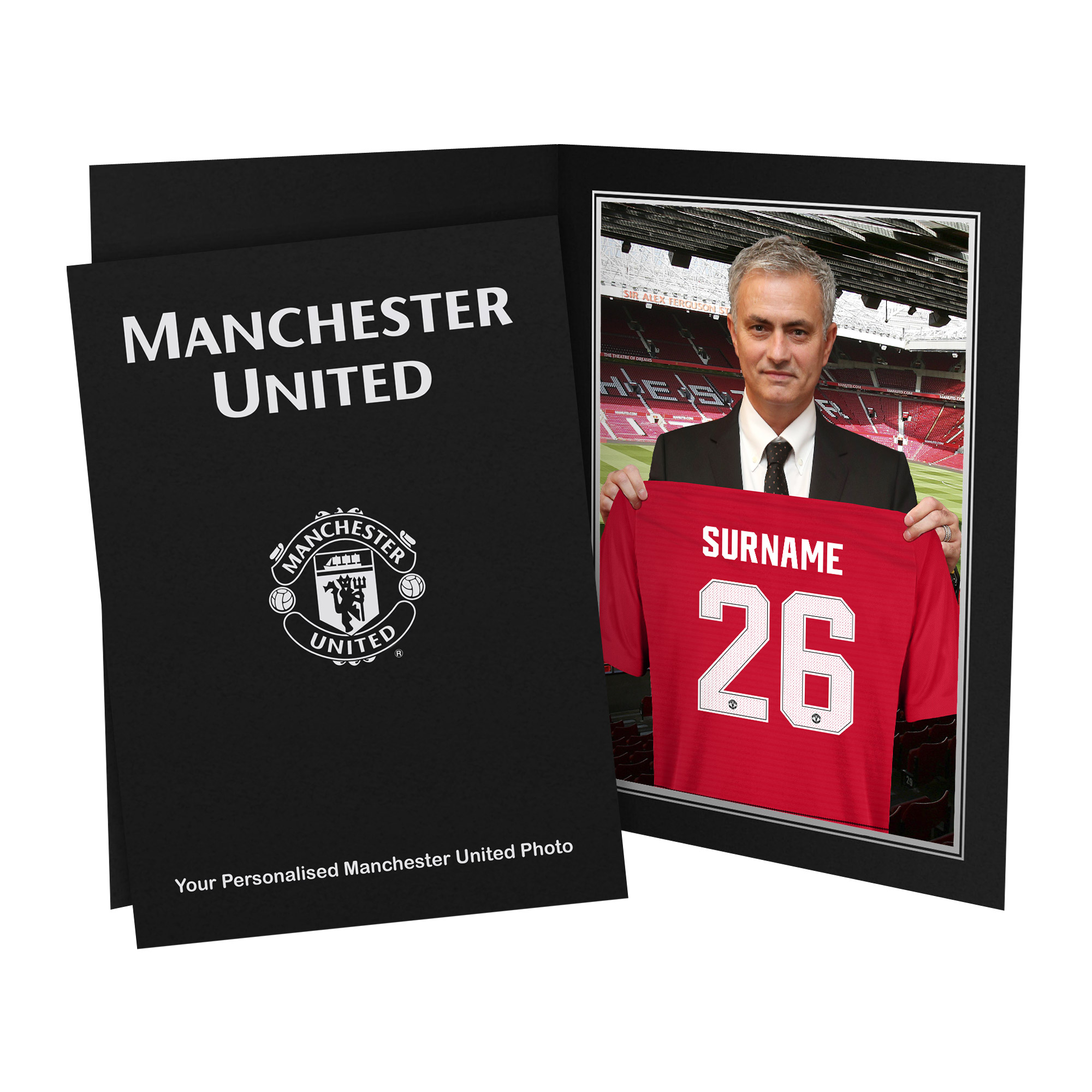 Manchester United FC 9x6 Manager Photo Folder