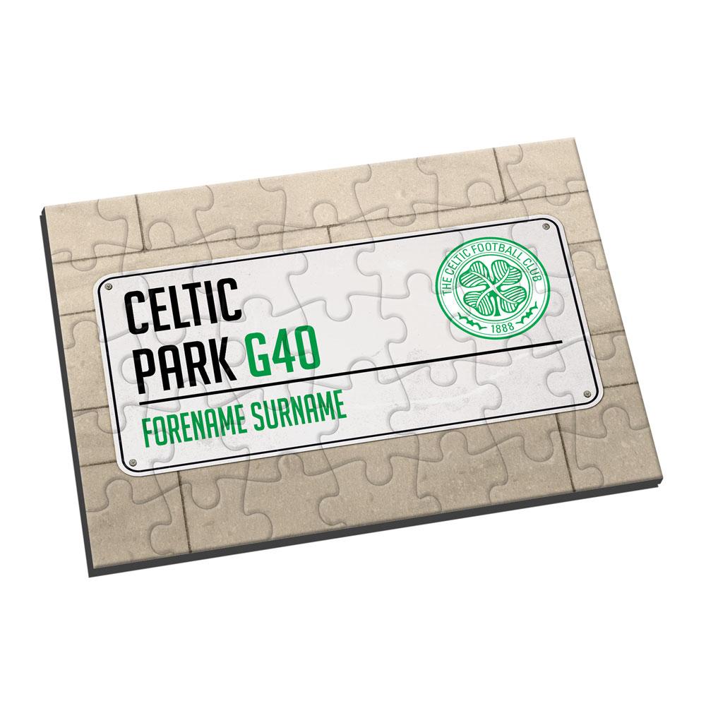 Celtic FC Street Sign Jigsaw