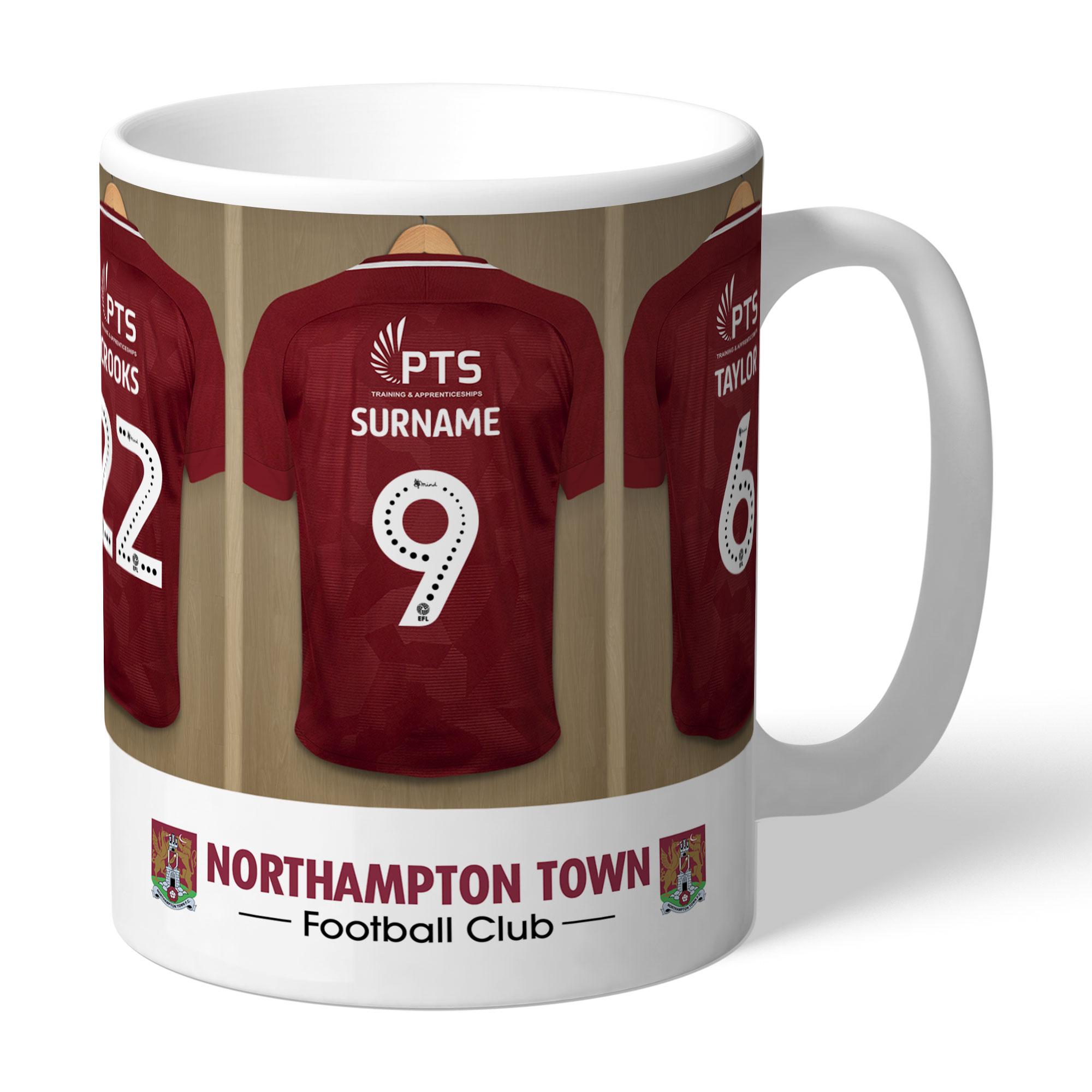 Northampton Town FC Dressing Room Mug
