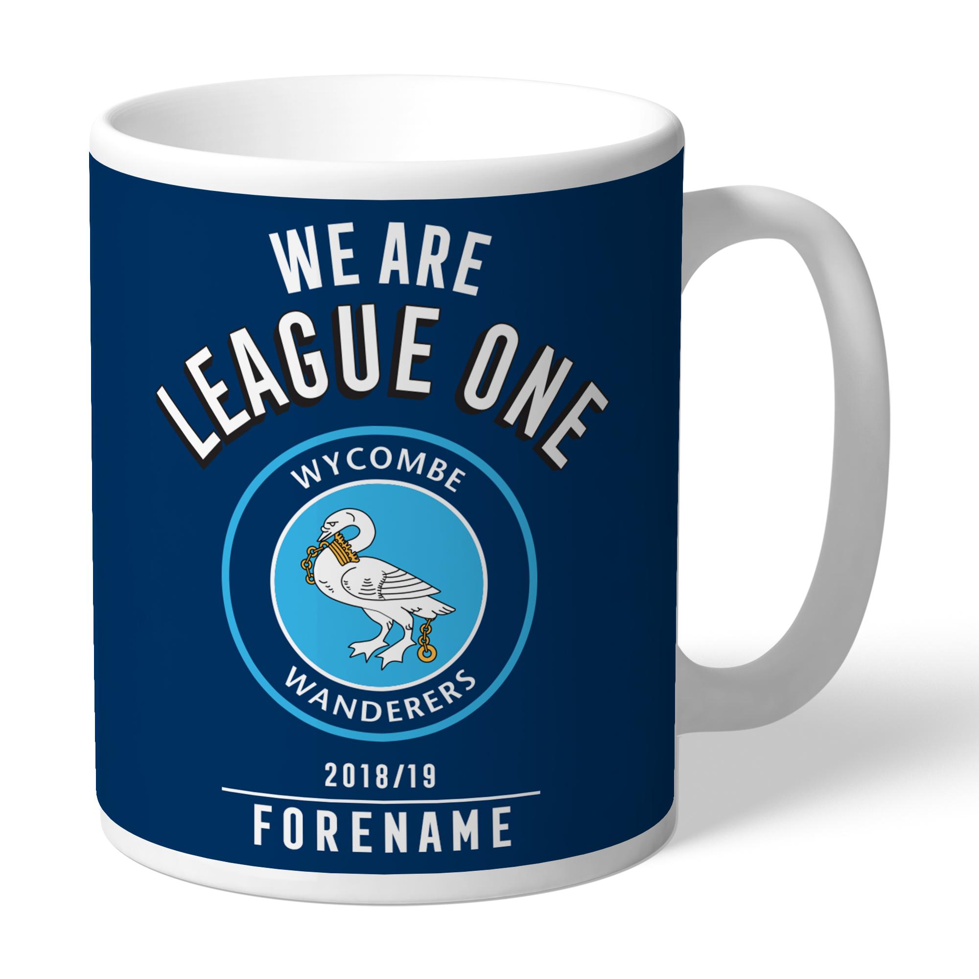 Wycombe Wanderers FC We Are League One Mug