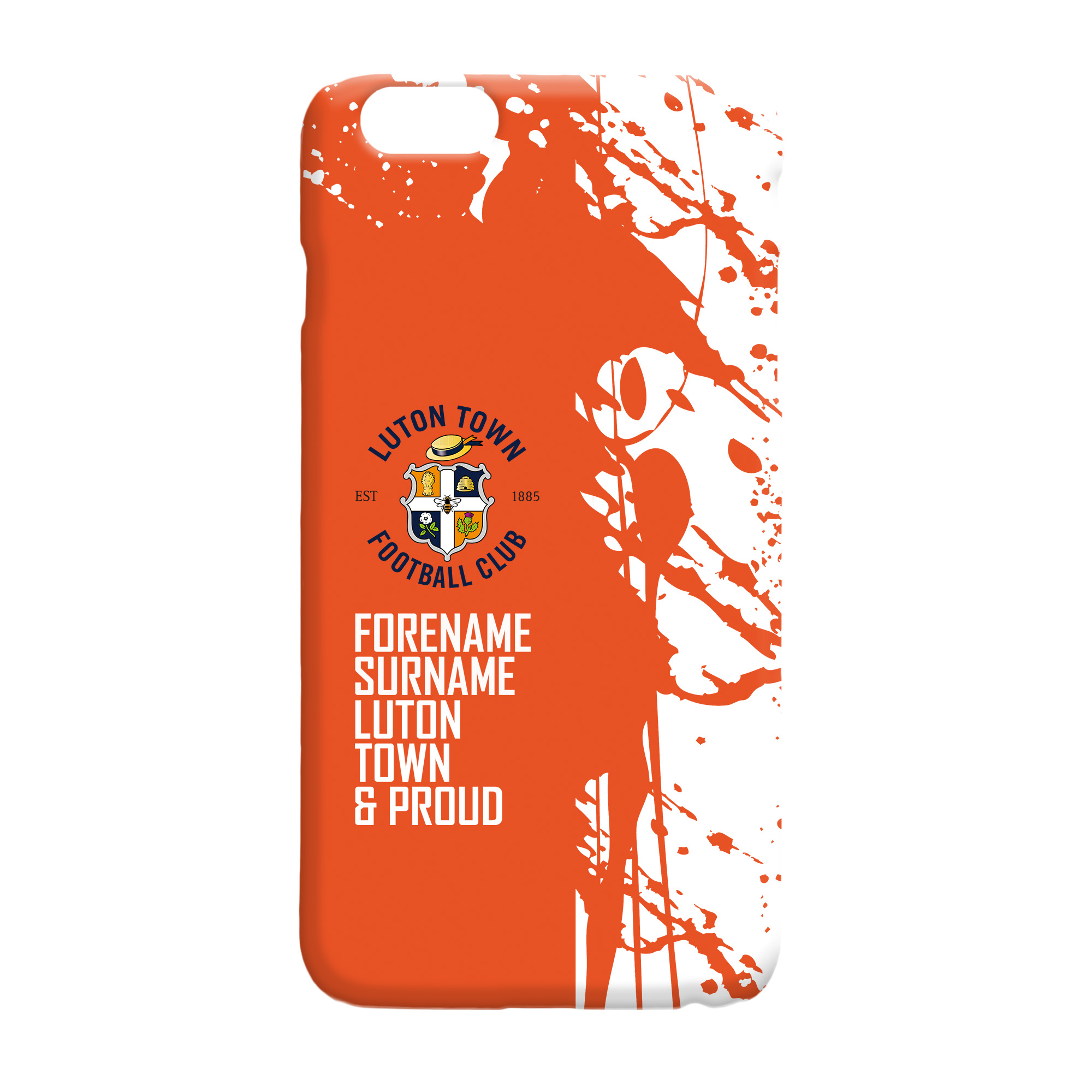 Luton Town FC Proud Hard Back Phone Case