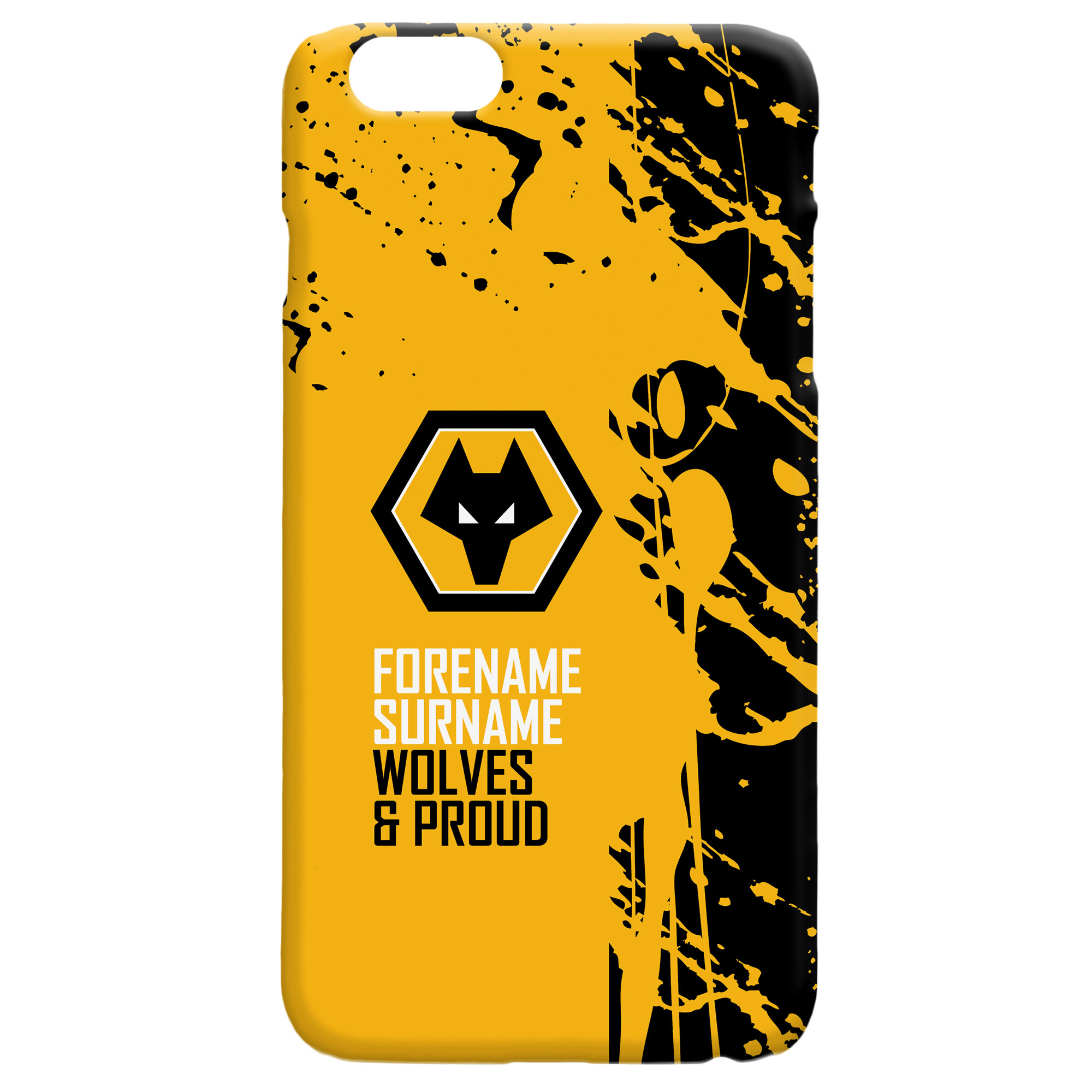 Wolves Proud Hard Back Phone Case