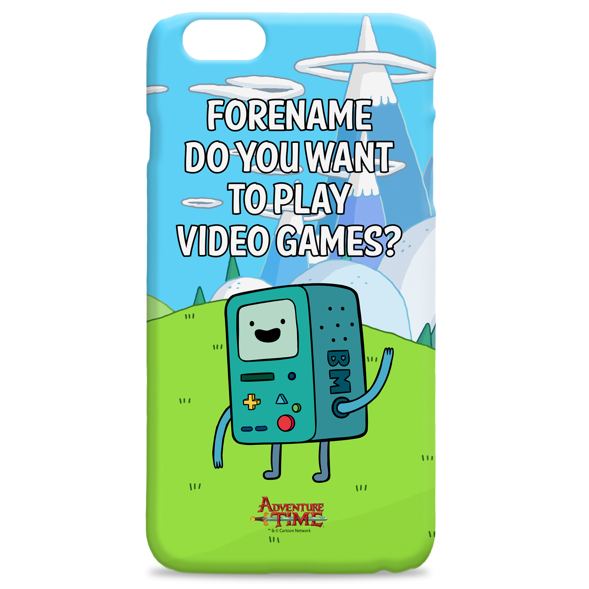 Adventure Time Video Games iPhone Case