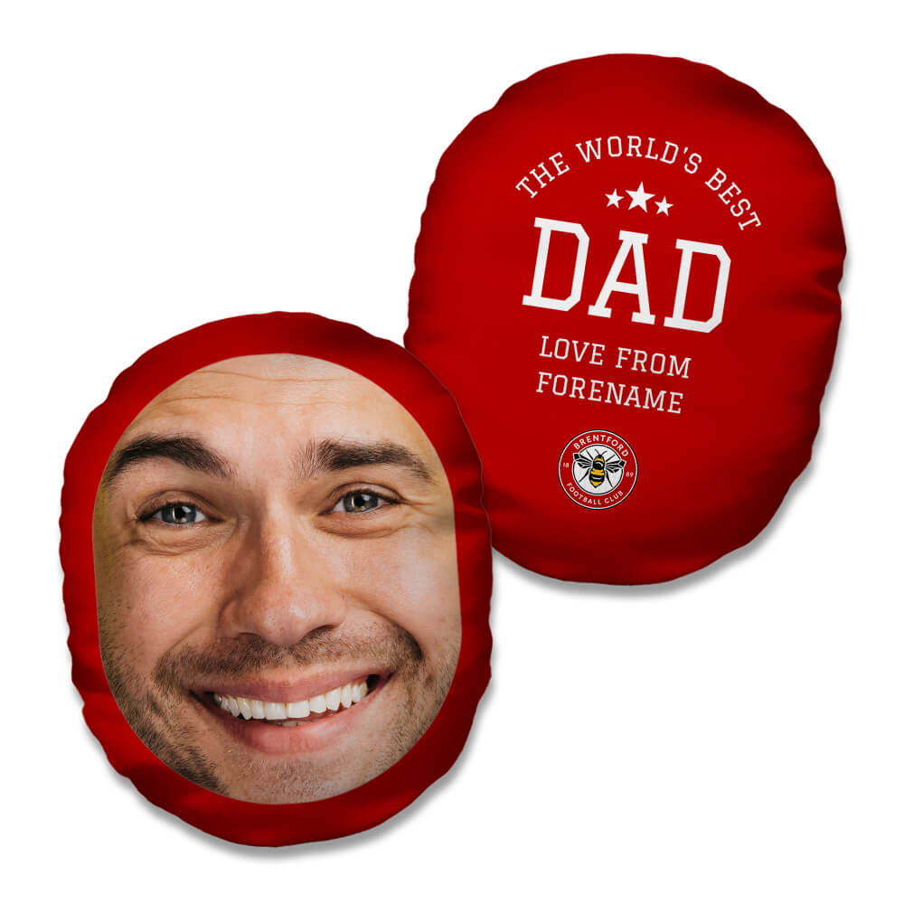 Brentford FC World's Best Dad Mush Cush
