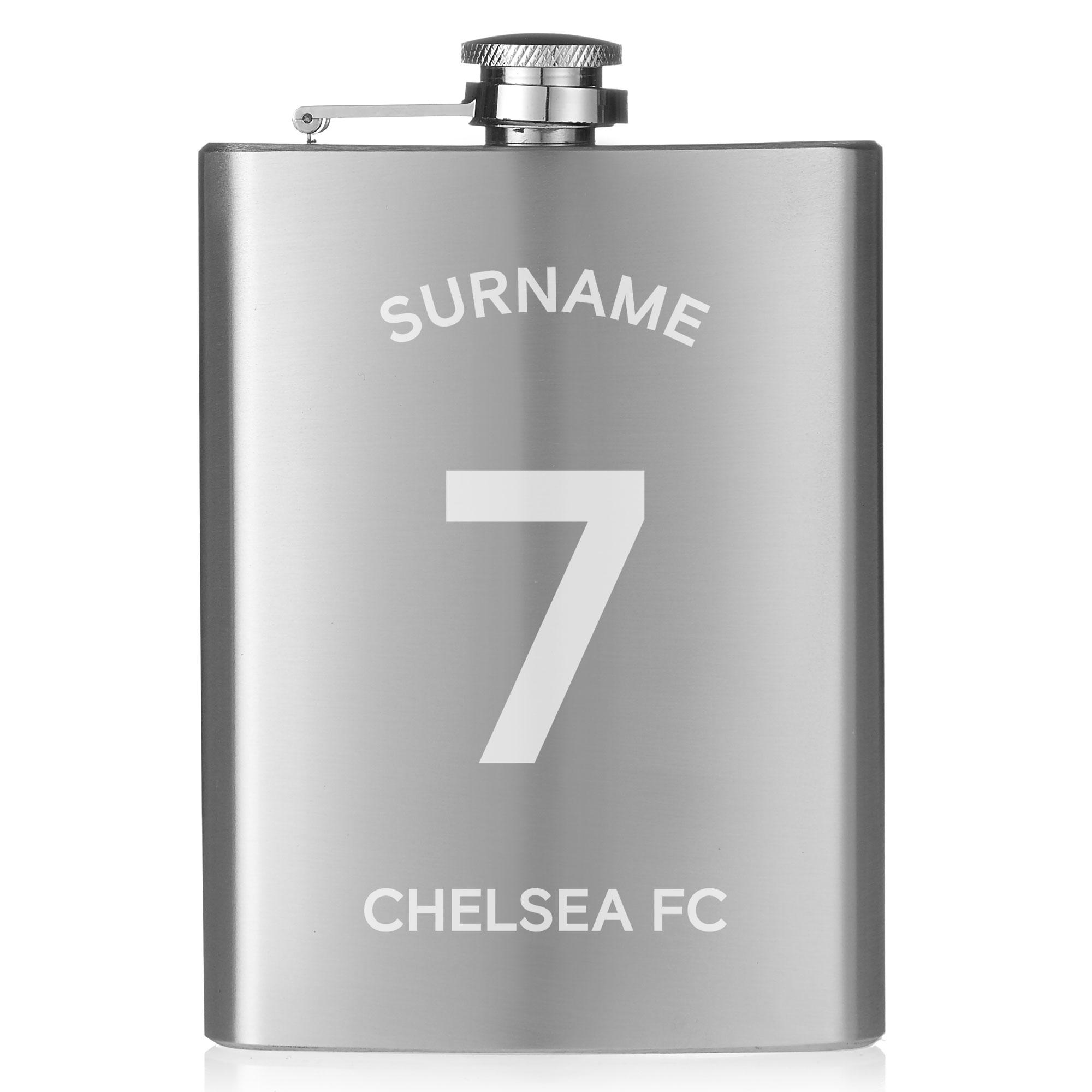 Chelsea FC Shirt Hip Flask