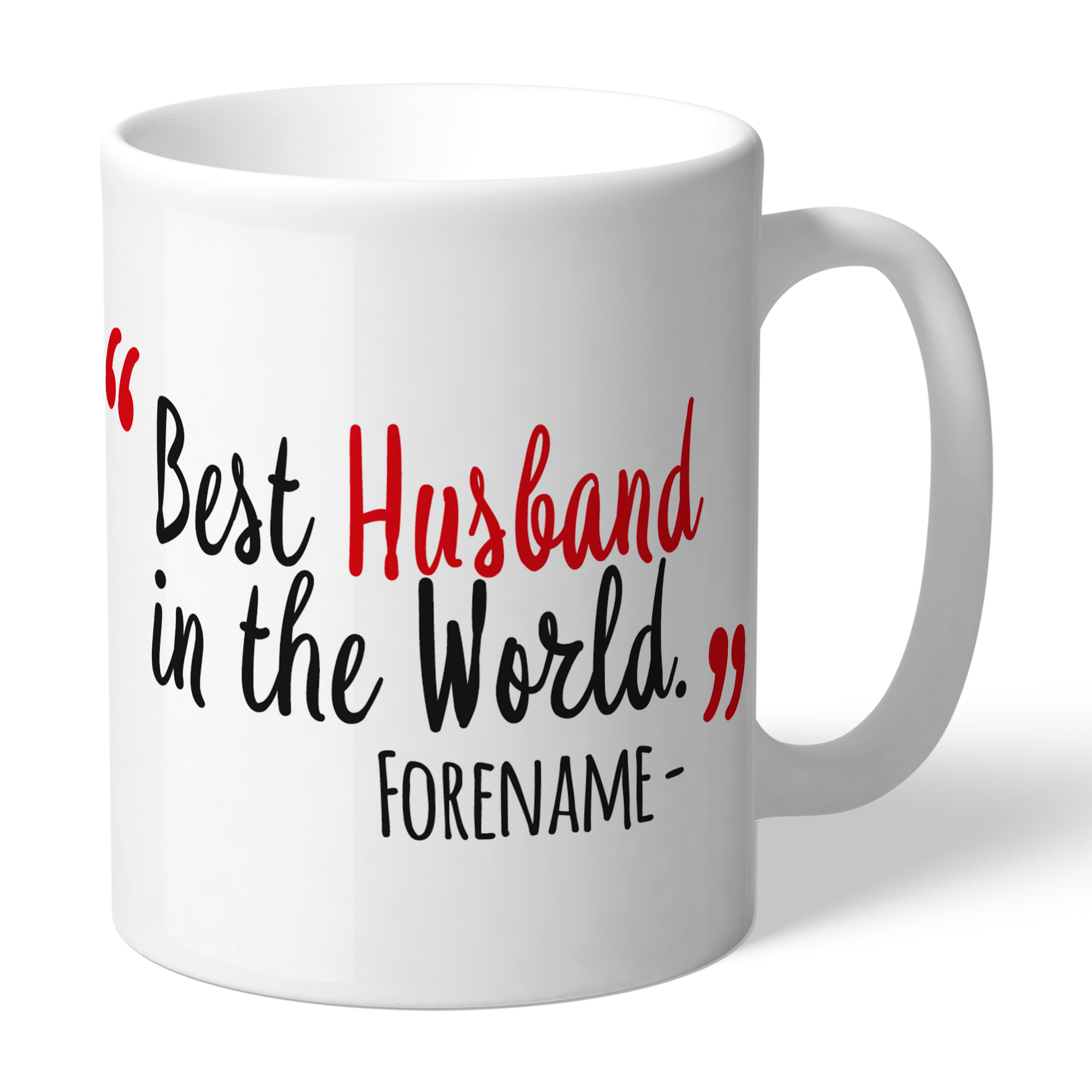 Manchester United FC Best Husband In The World Mug